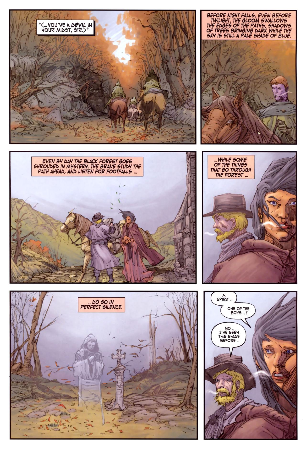 Read online Solomon Kane comic -  Issue #3 - 15