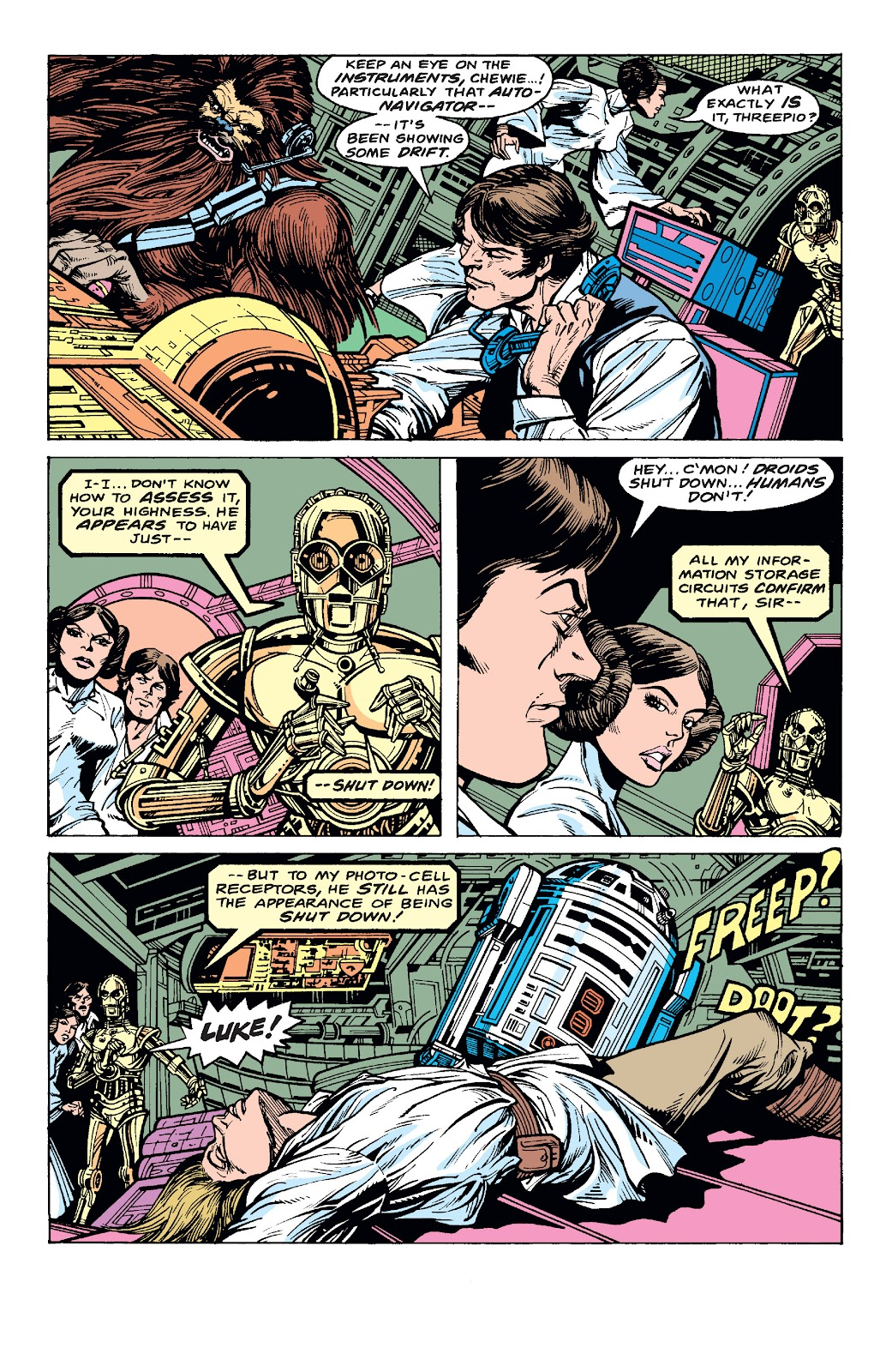 Read online Star Wars Legends: The Original Marvel Years - Epic Collection comic -  Issue # TPB 1 (Part 4) - 17