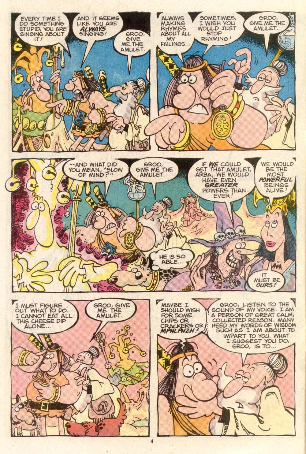Read online Sergio Aragonés Groo the Wanderer comic -  Issue #36 - 4