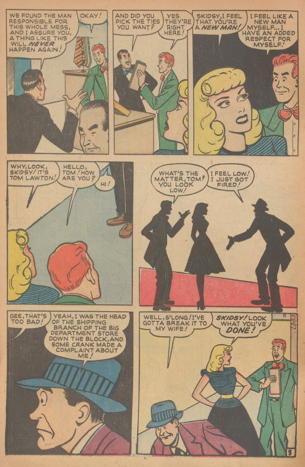 Read online Nellie The Nurse (1945) comic -  Issue #18 - 36
