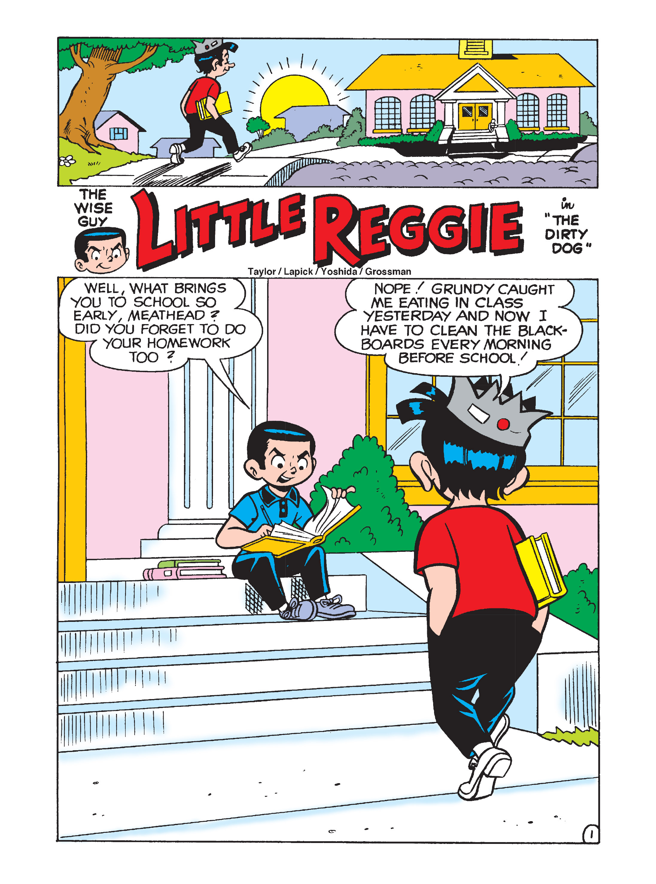 Read online Archie's Funhouse Double Digest comic -  Issue #8 - 128