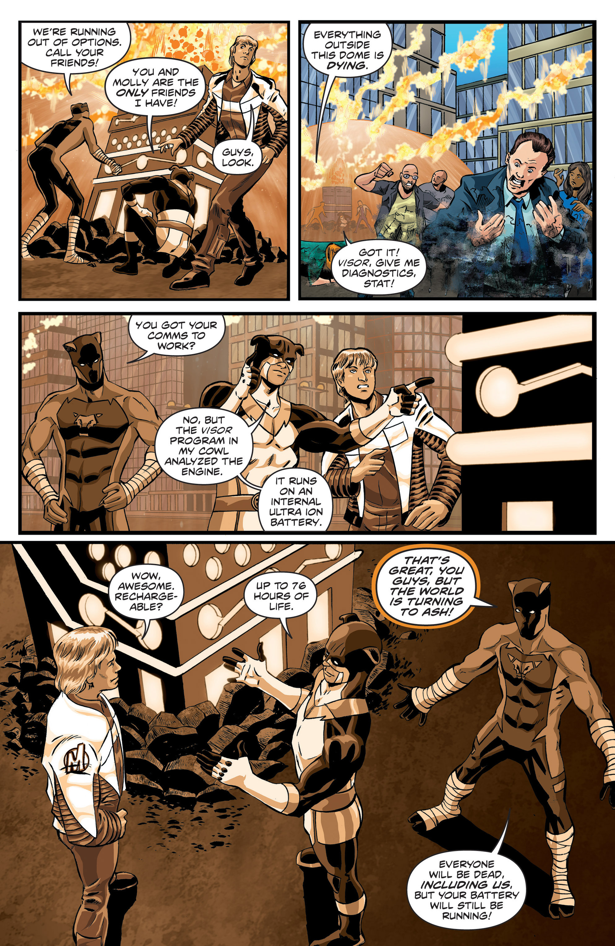 Read online Actionverse comic -  Issue #6 - 13