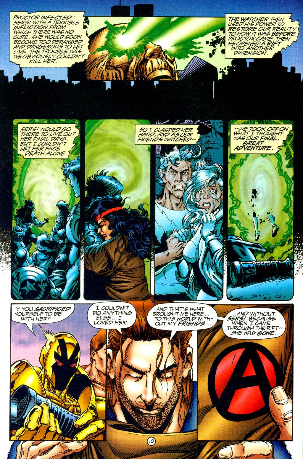 Read online UltraForce (1994) comic -  Issue #8 - 10