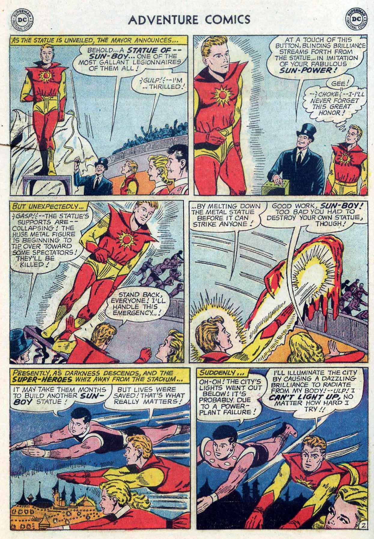 Read online Adventure Comics (1938) comic -  Issue #302 - 23