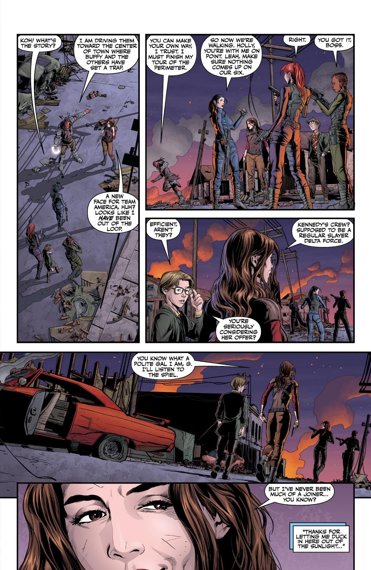 Read online Angel & Faith Season 10 comic -  Issue #1 - 11