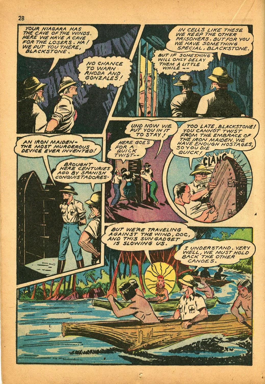 Read online Super-Magician Comics comic -  Issue #9 - 28