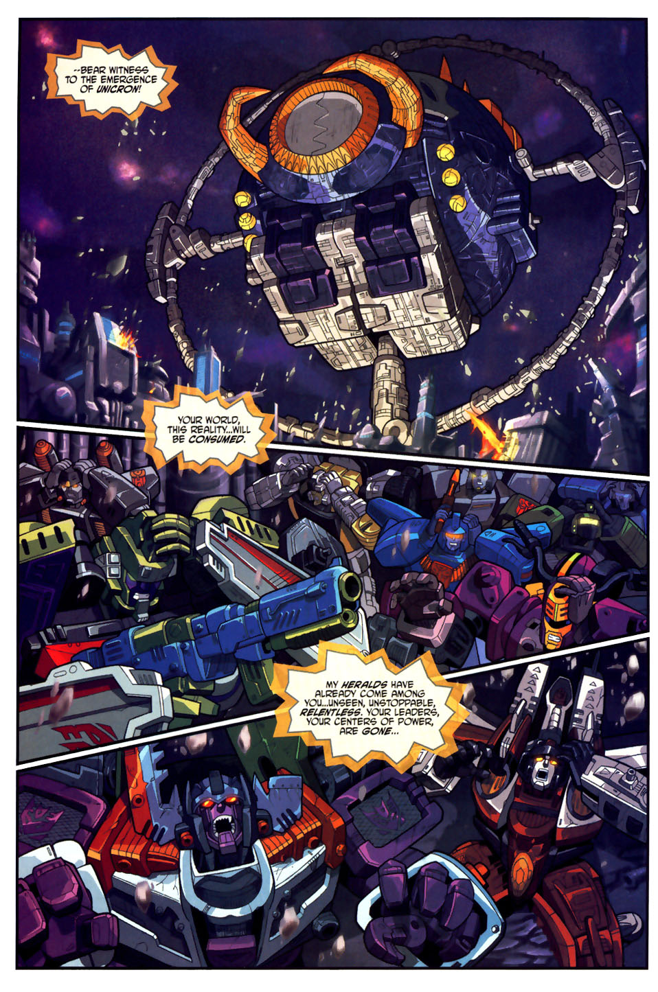 Read online Transformers Armada comic -  Issue #18 - 13