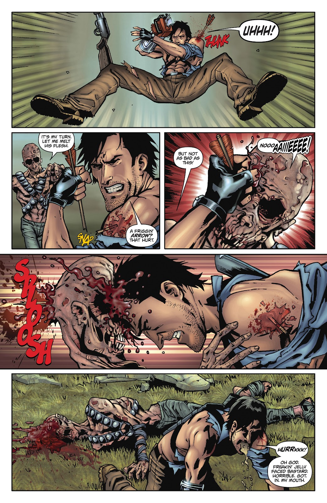Army of Darkness: The Long Road Home issue TPB - Page 96