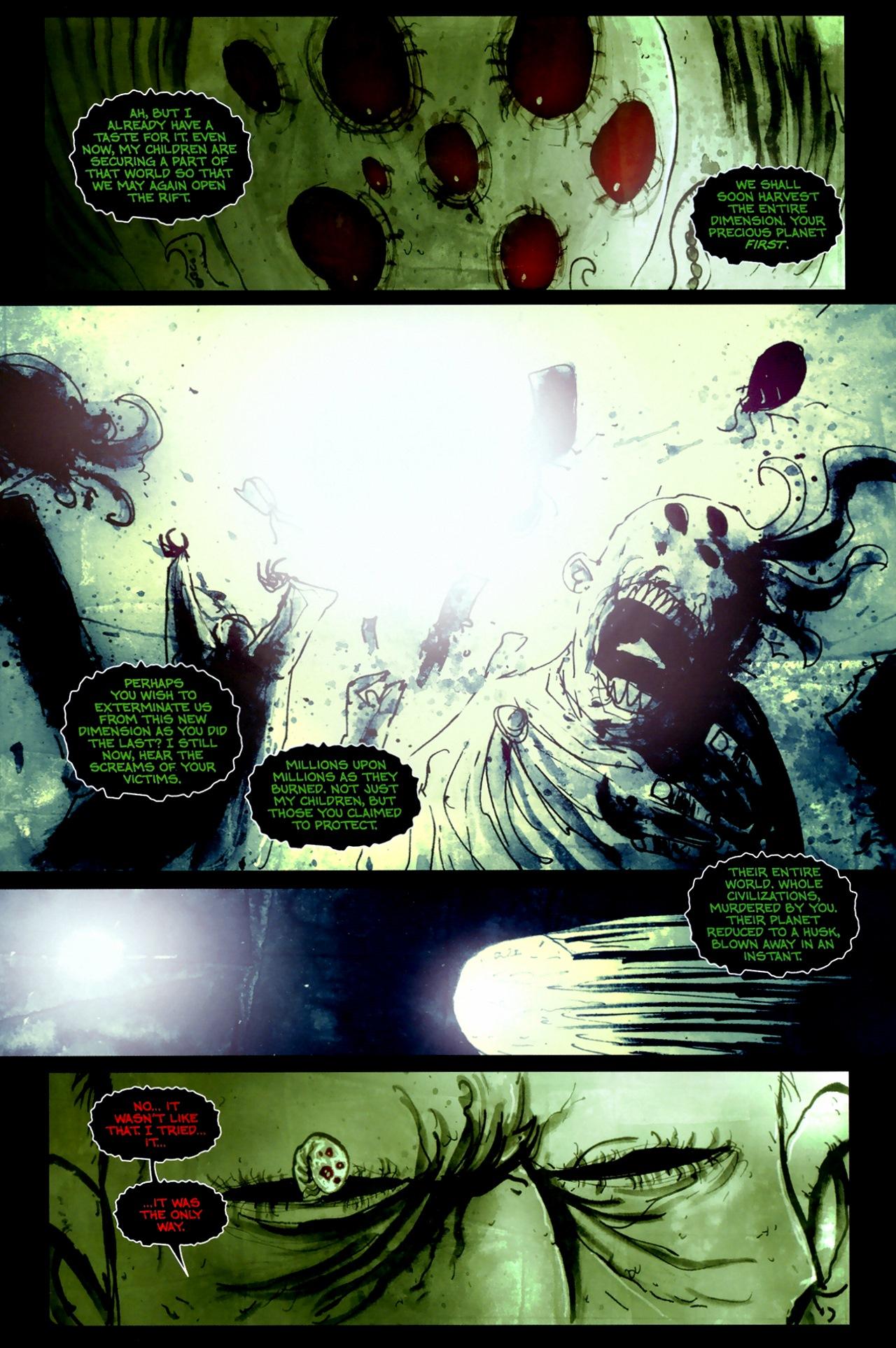 Read online Wormwood: Gentleman Corpse comic -  Issue #11 - 9