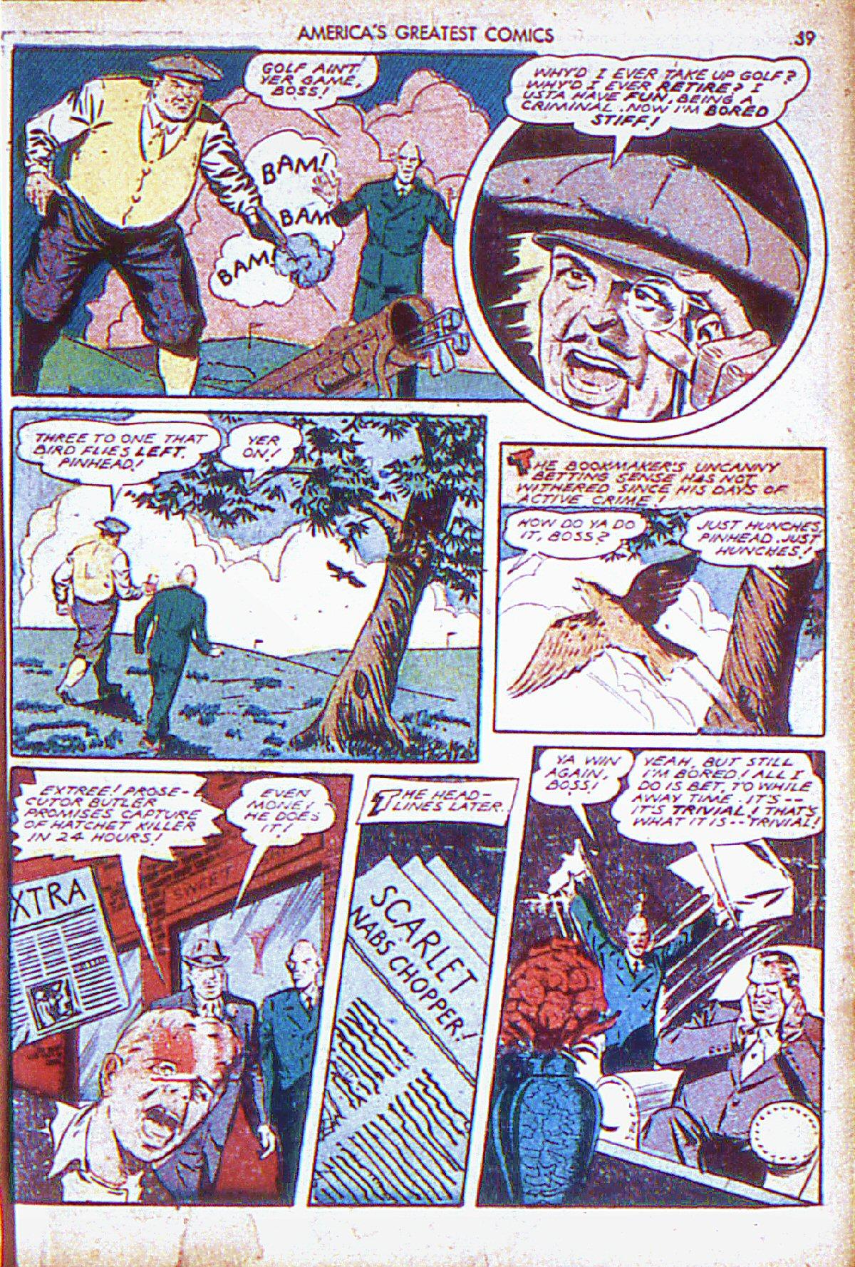 Read online America's Greatest Comics comic -  Issue #6 - 40