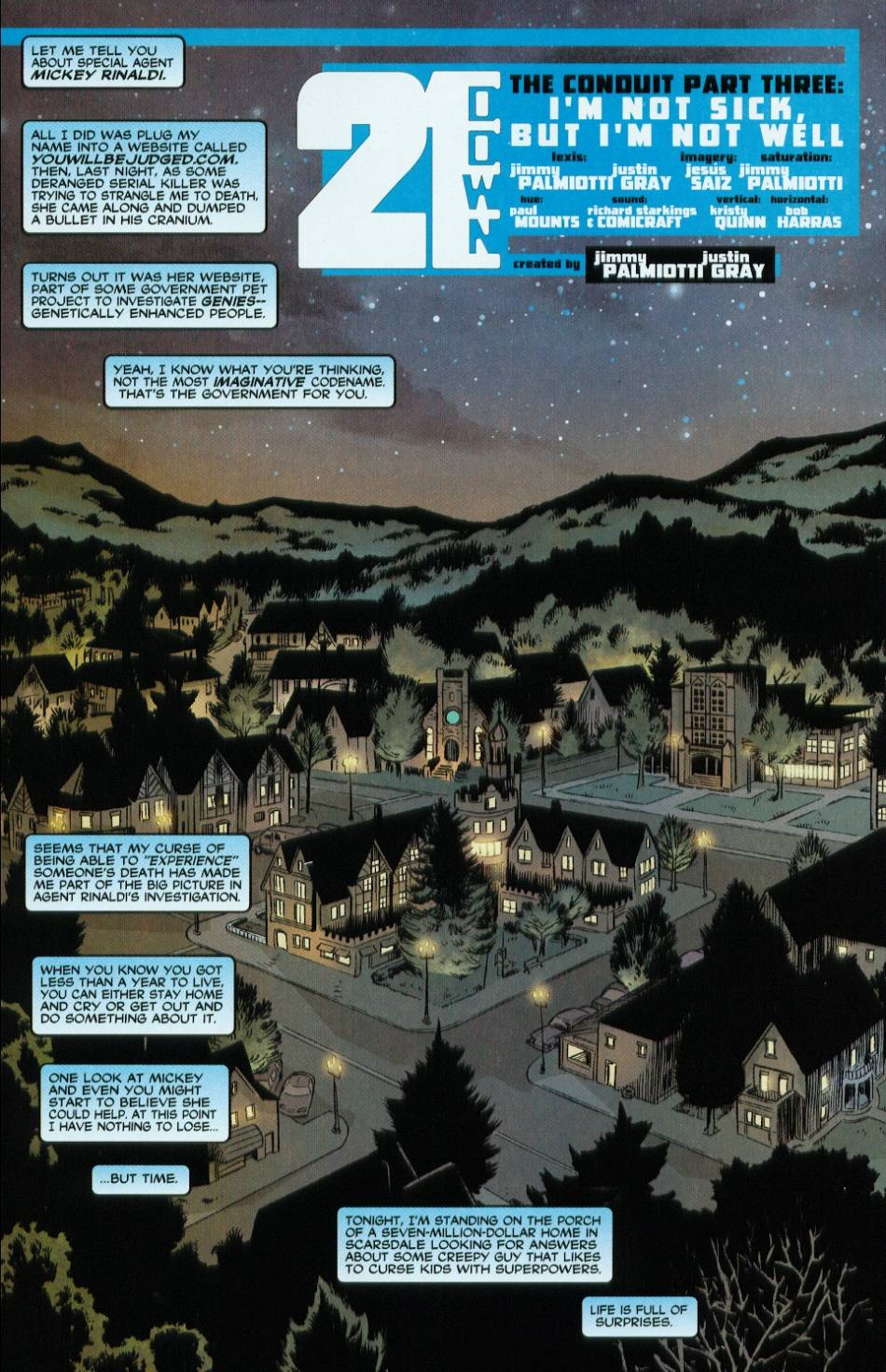 Read online 21 Down comic -  Issue #3 - 2