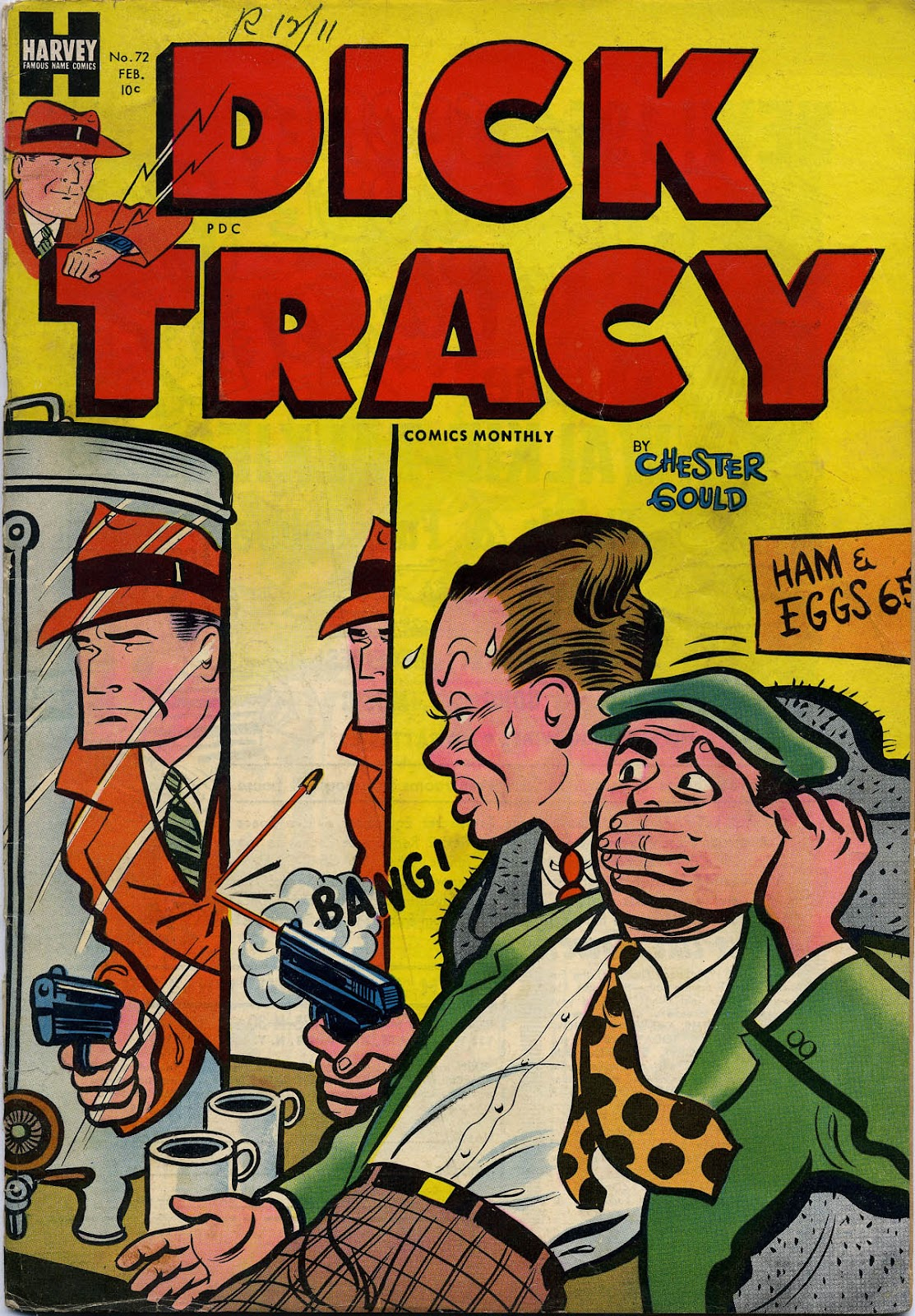 Dick Tracy (1950) 72 Page 1