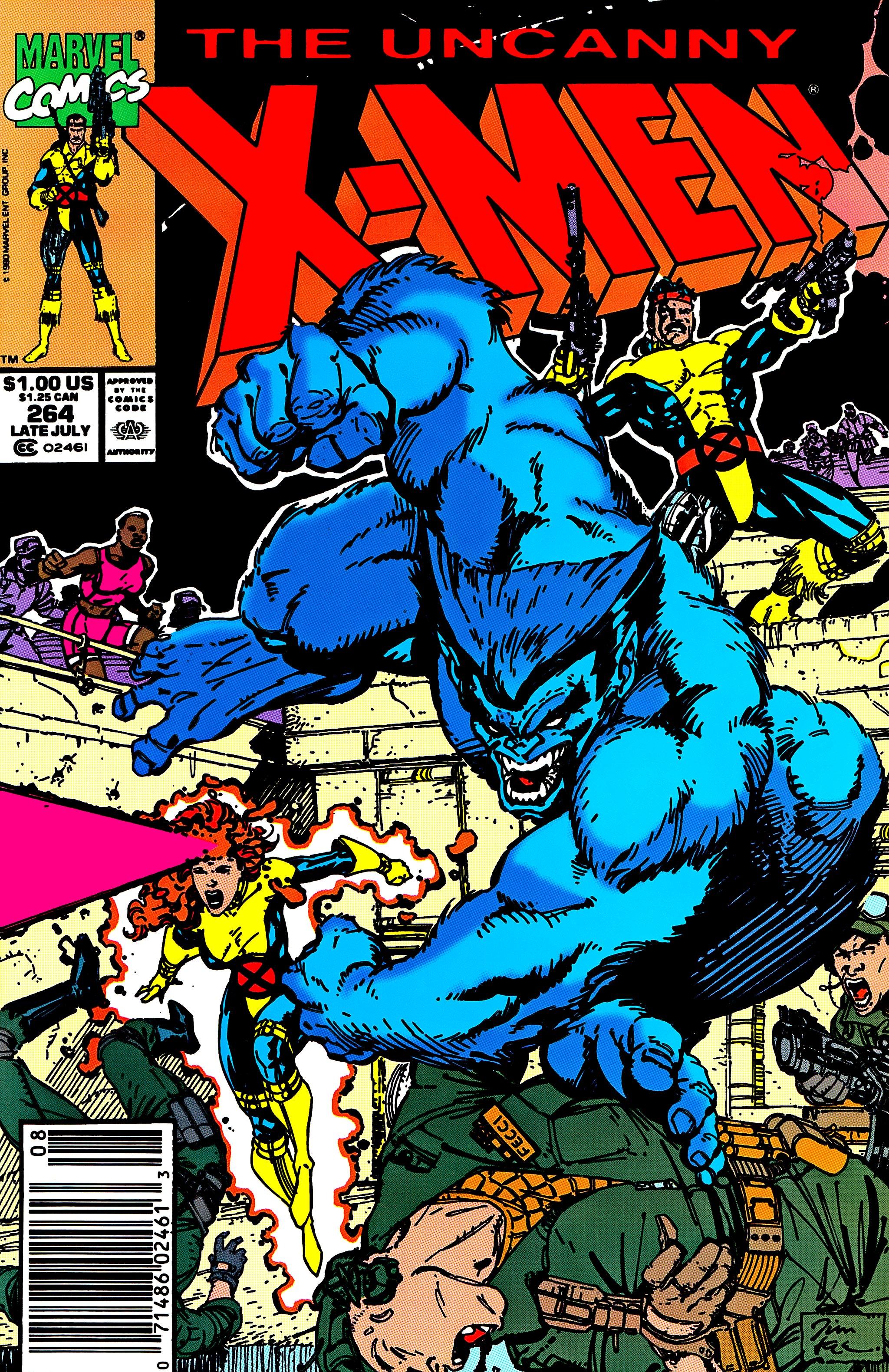 Uncanny X-Men (1963) 264 Page 1