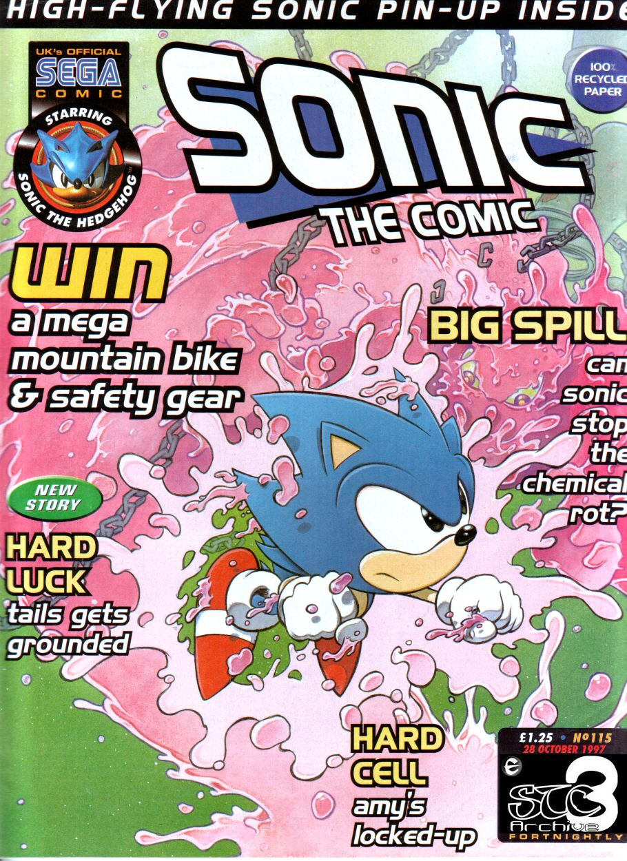 Read online Sonic the Comic comic -  Issue #115 - 1
