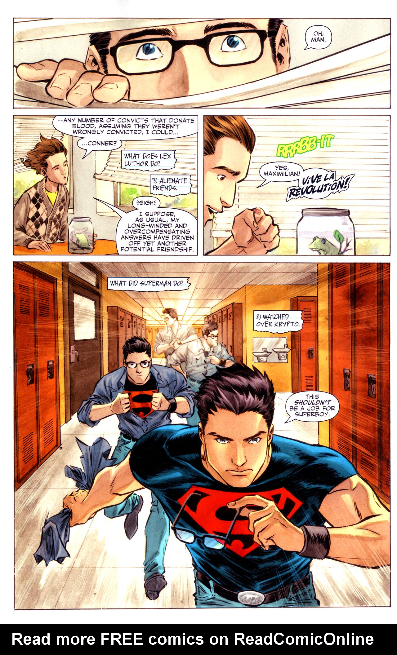 Read online Adventure Comics (2009) comic -  Issue #3 - 6