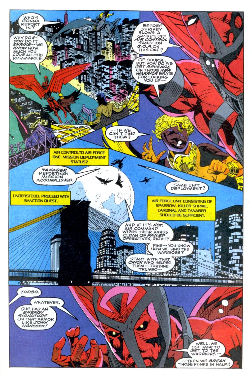 The New Warriors Issue #35 #39 - English 5