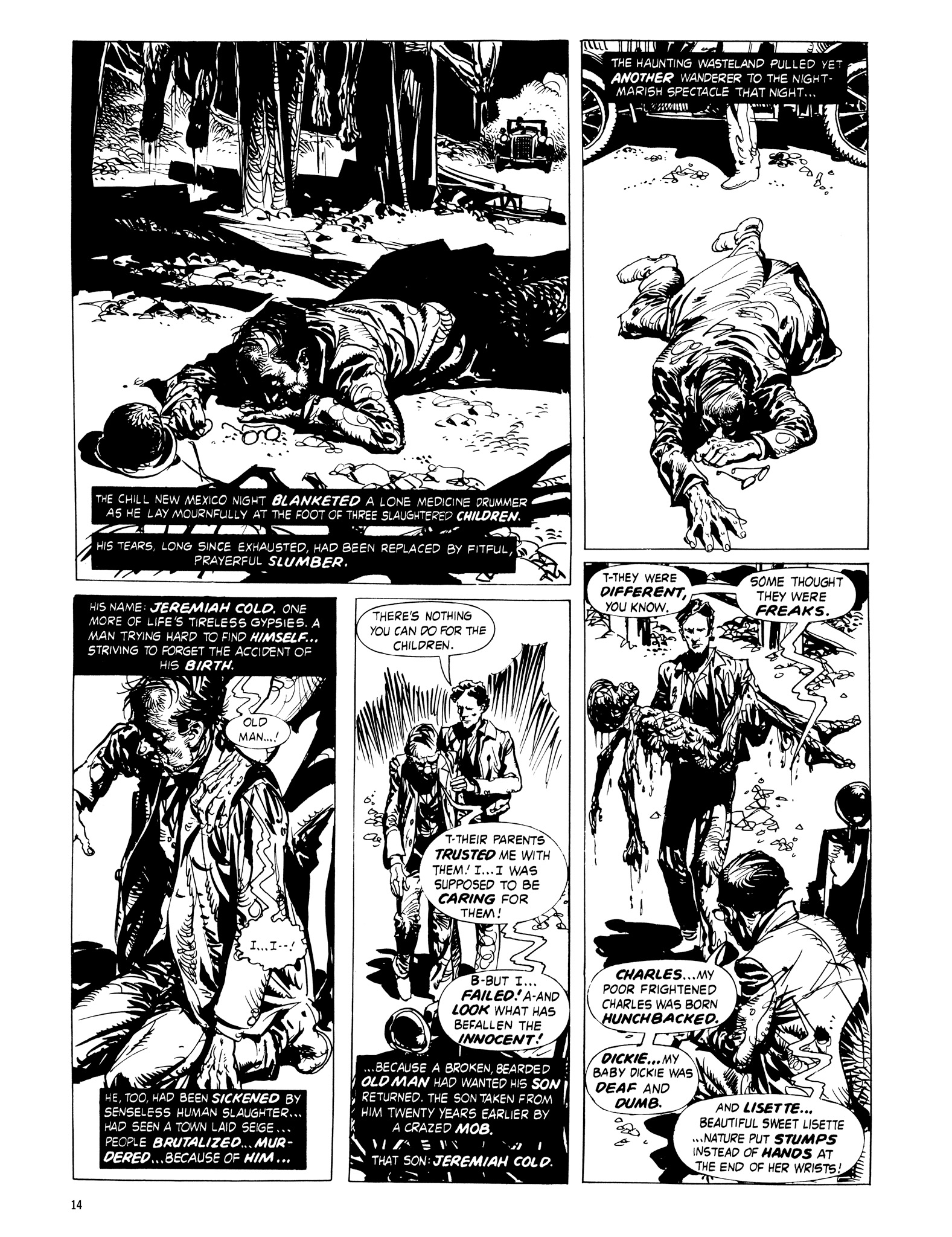 Read online Eerie Archives comic -  Issue # TPB 16 - 15
