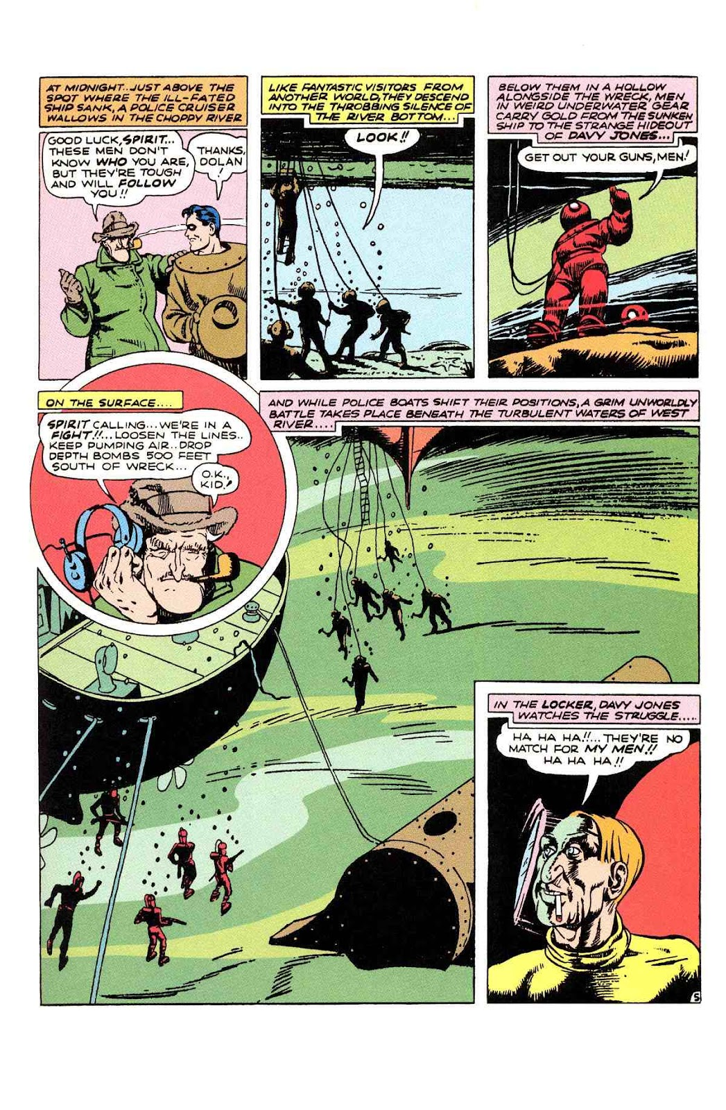 Read online Will Eisner's The Spirit Archives comic -  Issue # TPB 2 (Part 1) - 37