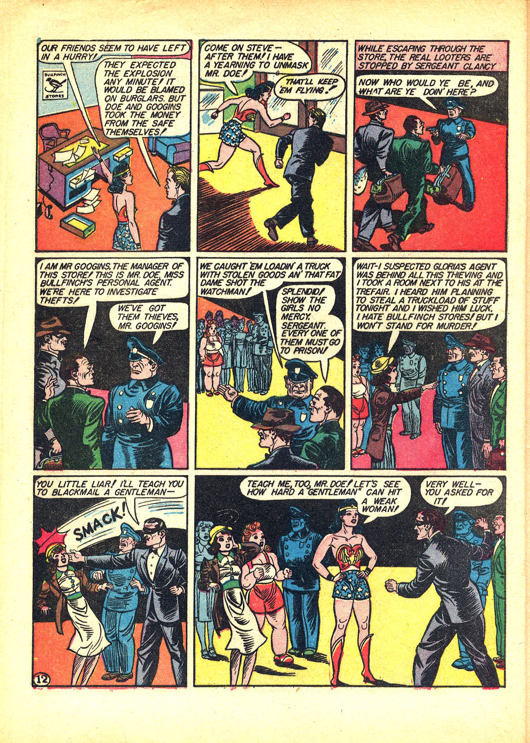Read online Sensation (Mystery) Comics comic -  Issue #8 - 14