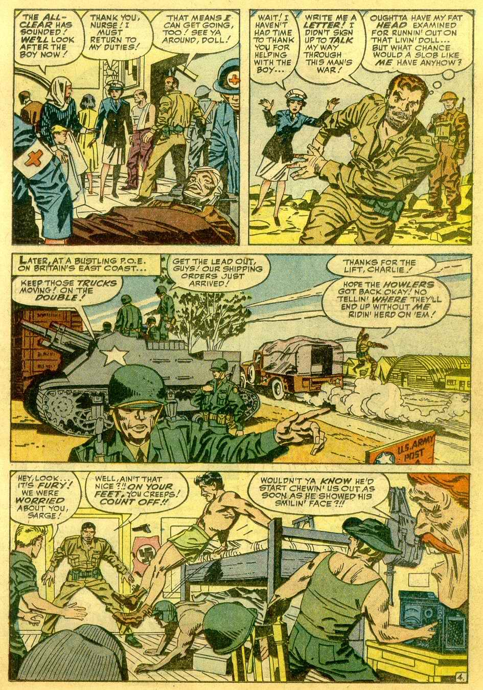Read online Sgt. Fury comic -  Issue # _Annual 1 - 27
