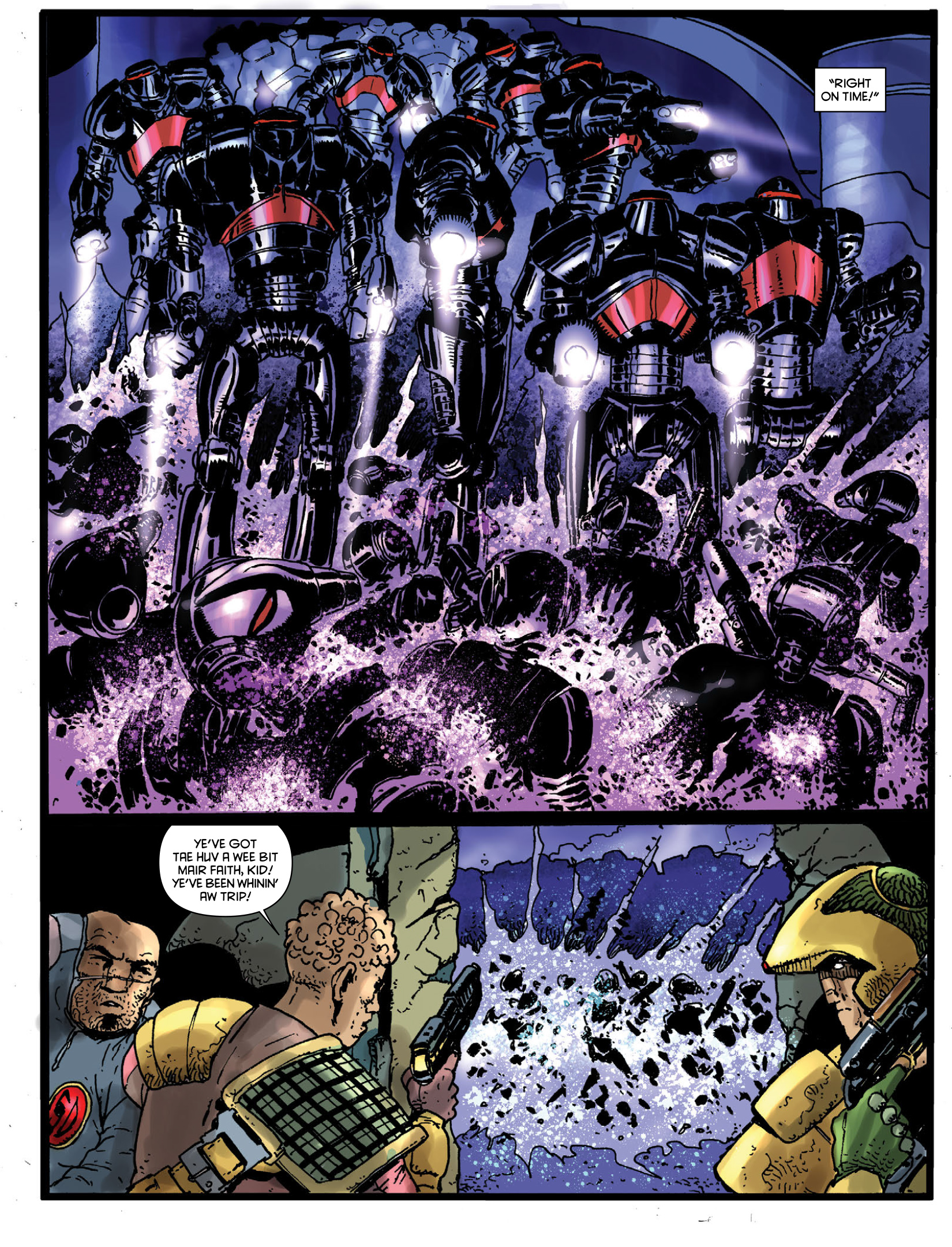 Read online 2000 AD comic -  Issue #1970 - 29