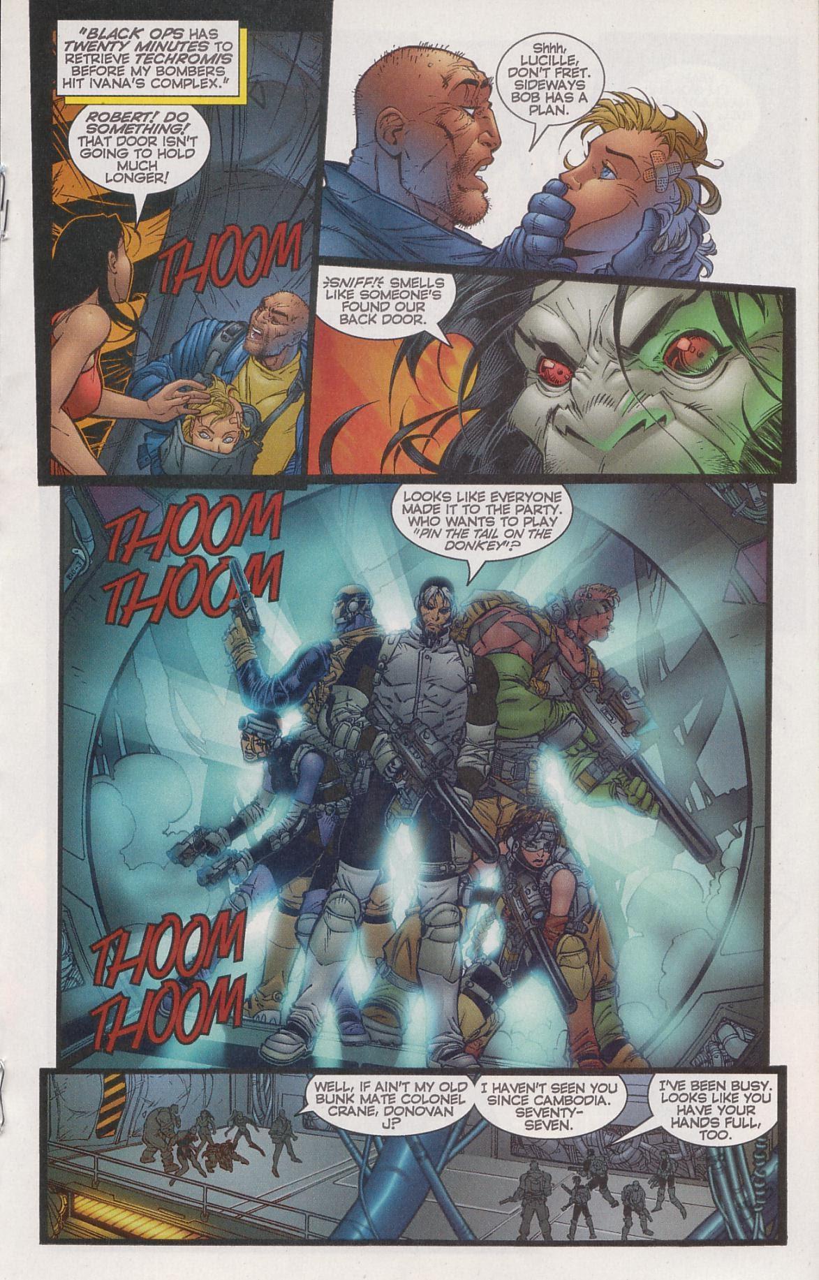 DV8 vs Black Ops Issue 3 | Viewcomic reading comics online for free 2019