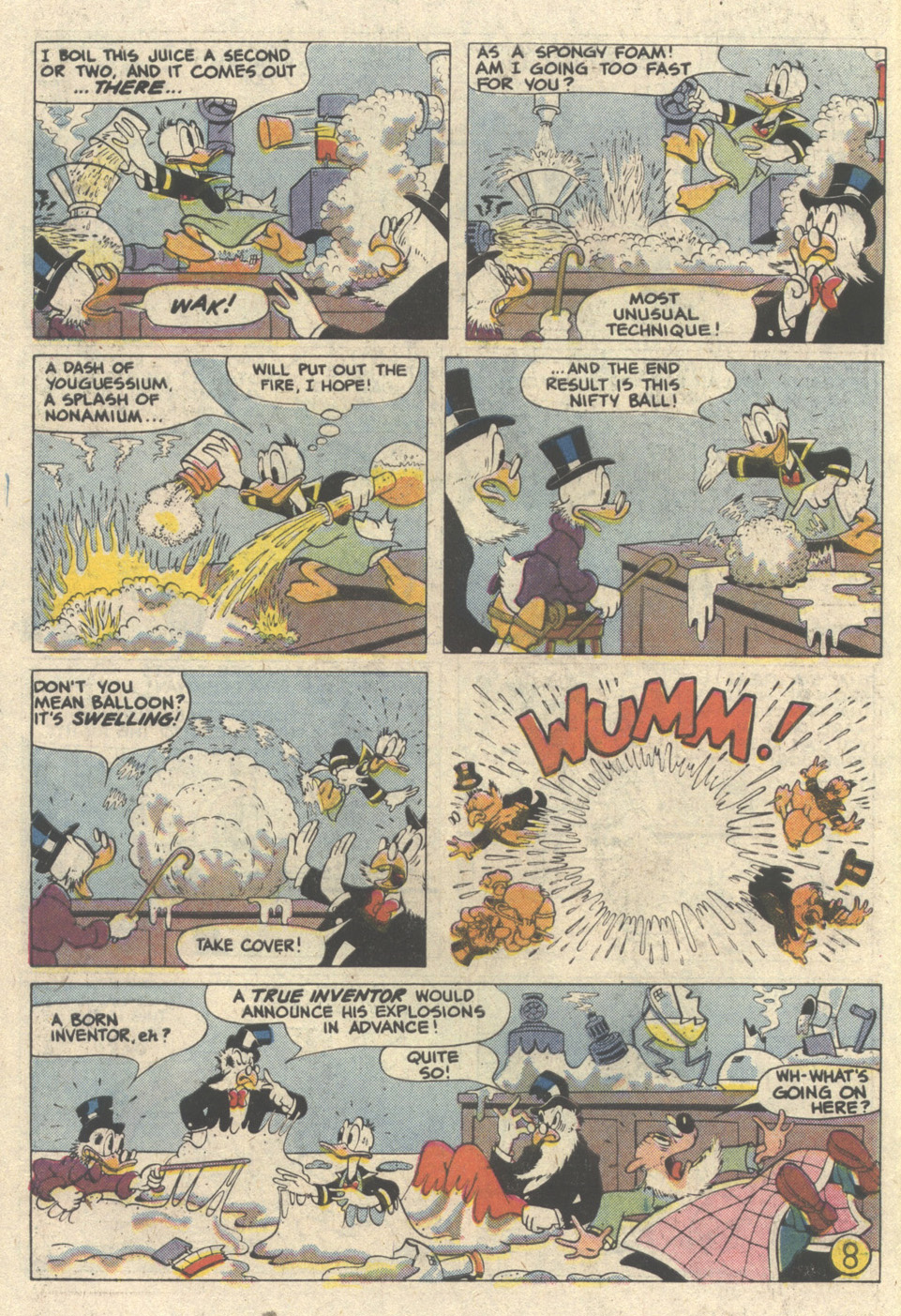 Walt Disney's Donald Duck (1986) issue 249 - Page 10