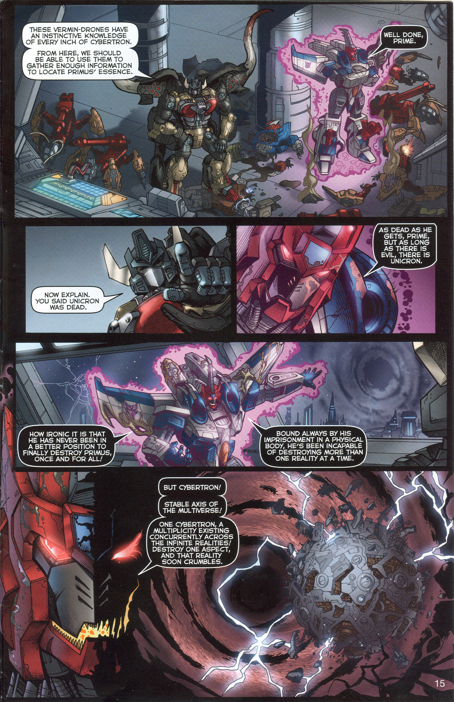 Read online Transformers: Collectors' Club comic -  Issue #3 - 15