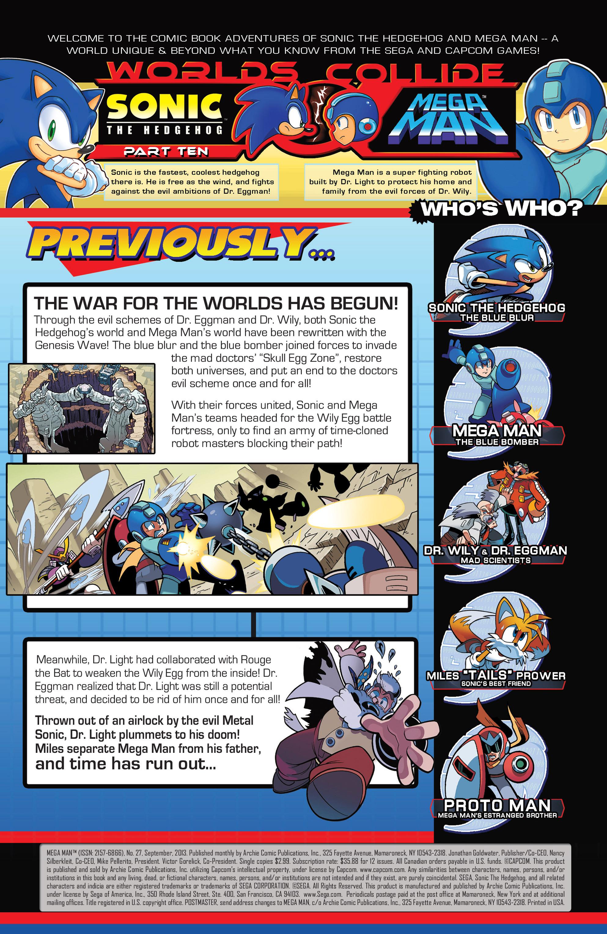 Read online Sonic Mega Man Worlds Collide comic -  Issue # Vol 3 - 49