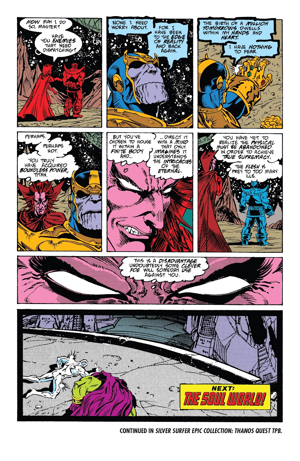 Read online Marvel Tales: Thanos comic -  Issue # Full - 47