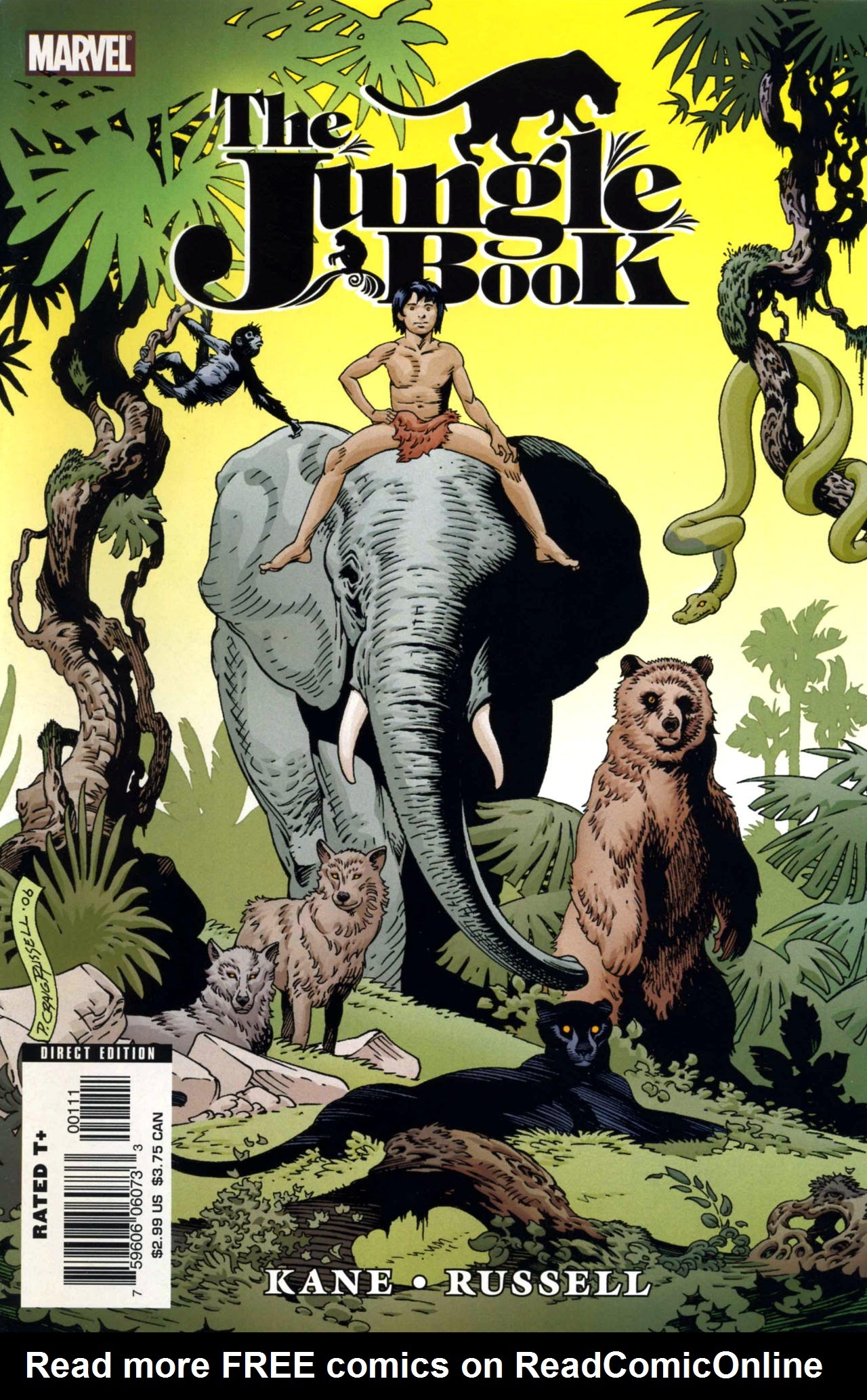 Marvel Illustrated Jungle Book Full Page 1