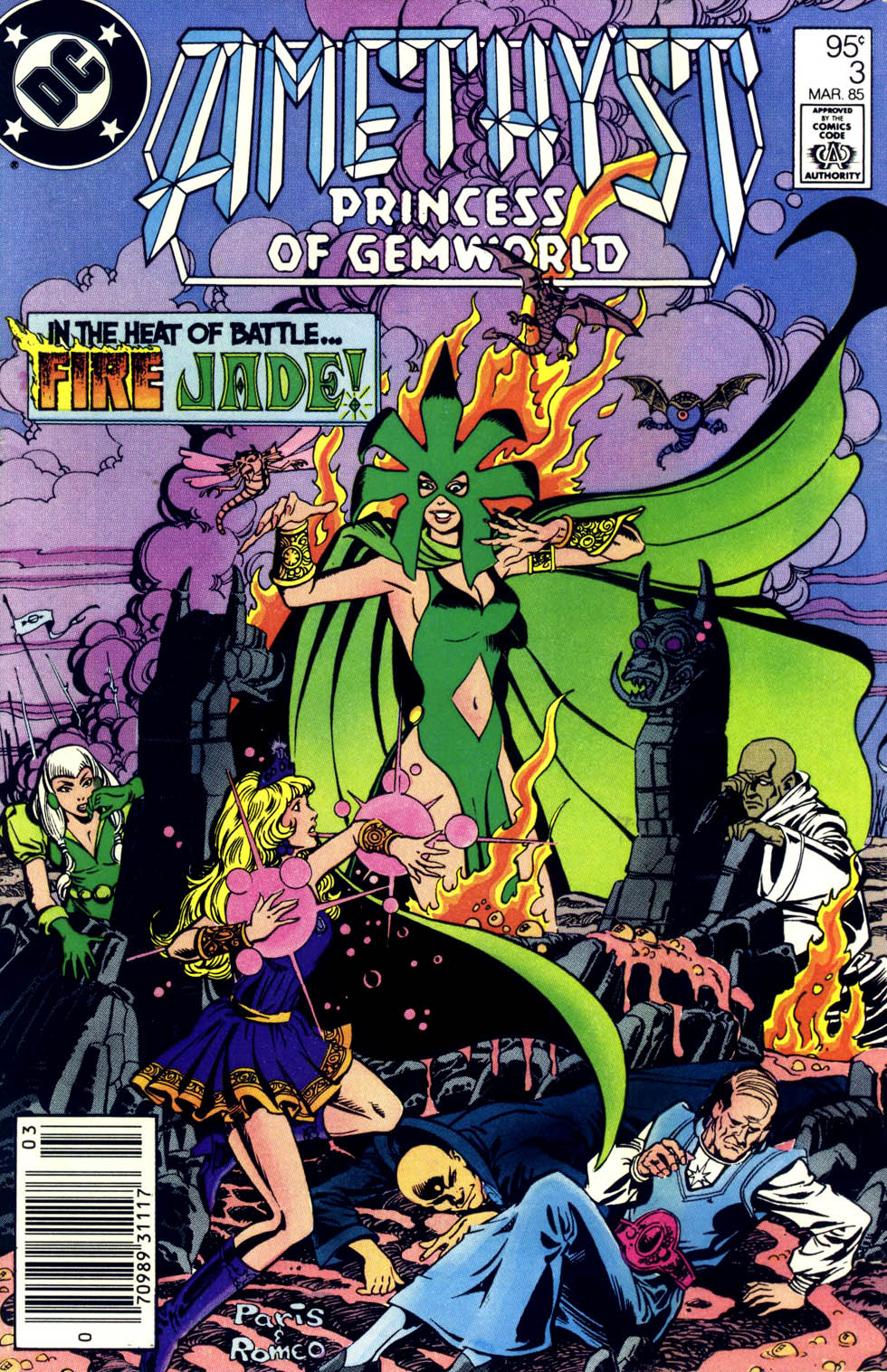 Read online Amethyst (1985) comic -  Issue #3 - 1