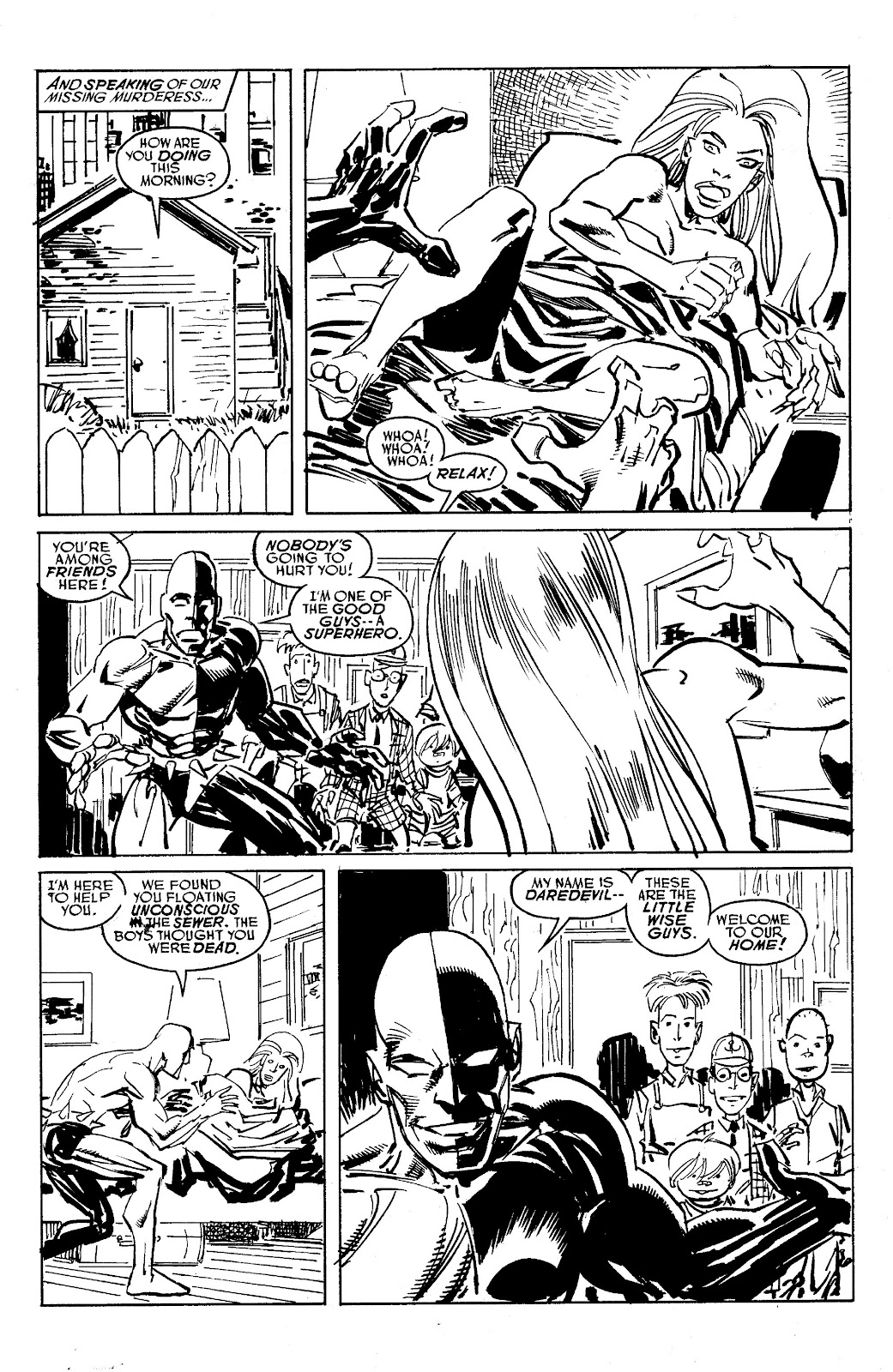 Read online Savage Dragon Archives comic -  Issue # TPB 6 (Part 5) - 89
