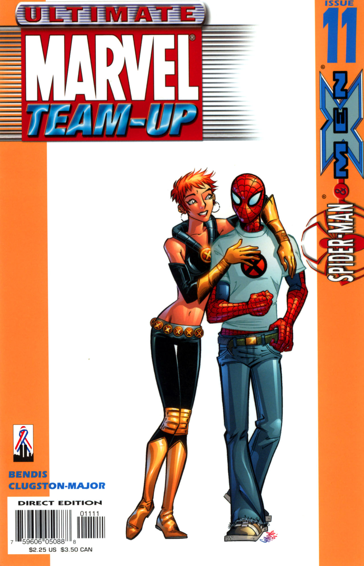 Read online Ultimate Marvel Team-Up comic -  Issue #11 - 1