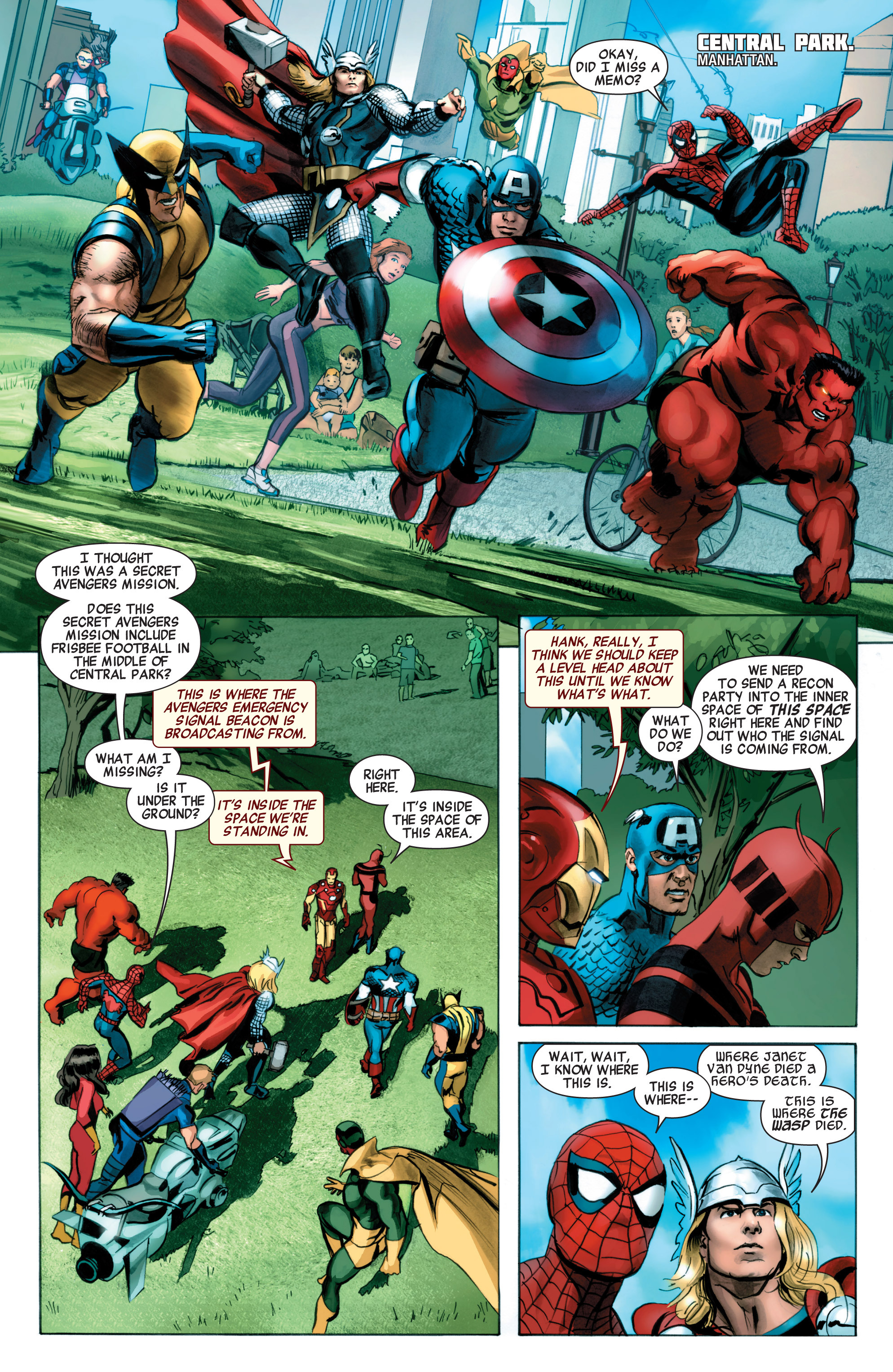 Read online Avengers (2010) comic -  Issue #32 - 9