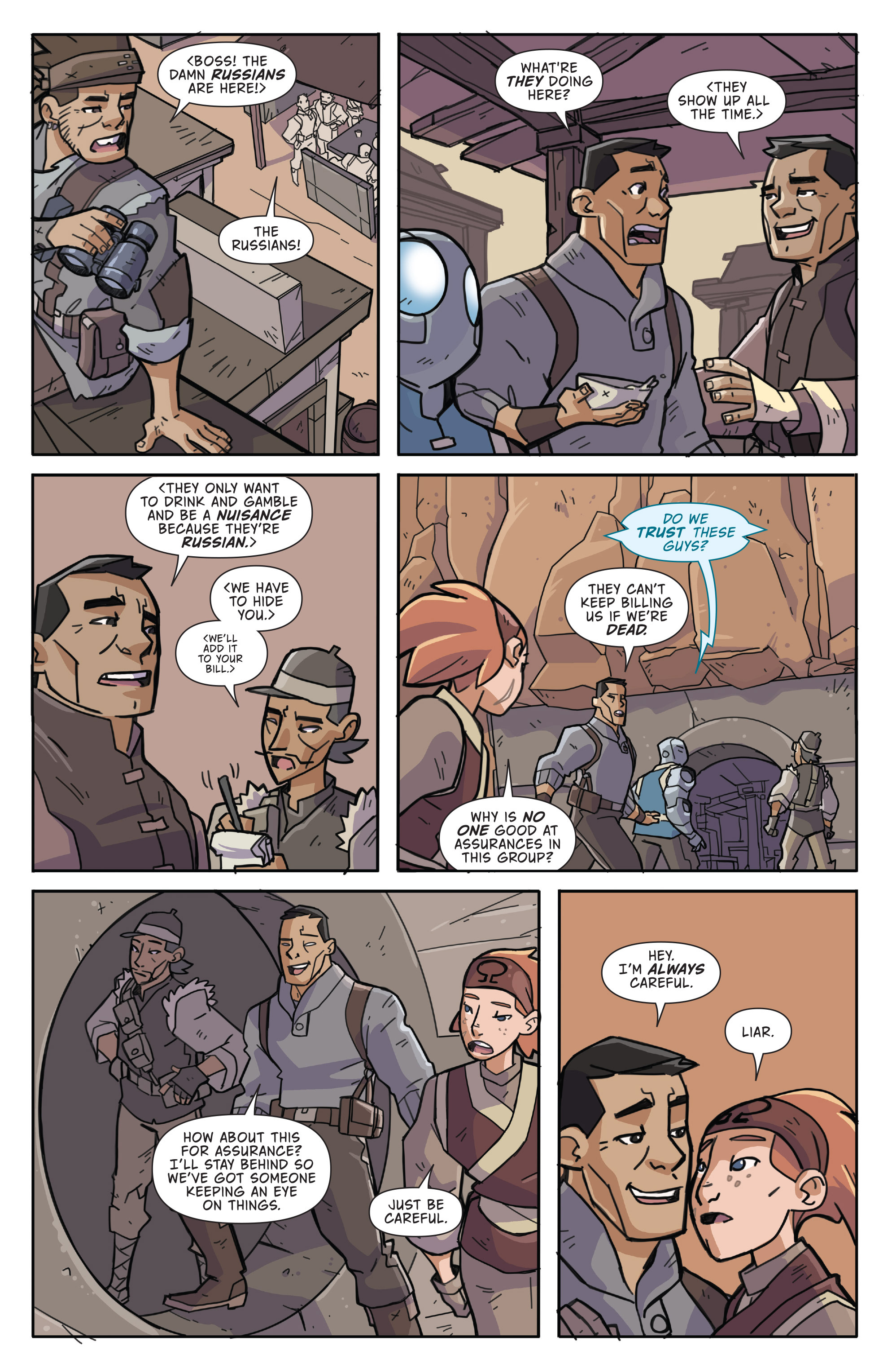 Read online Atomic Robo and the Temple of Od comic -  Issue #3 - 12