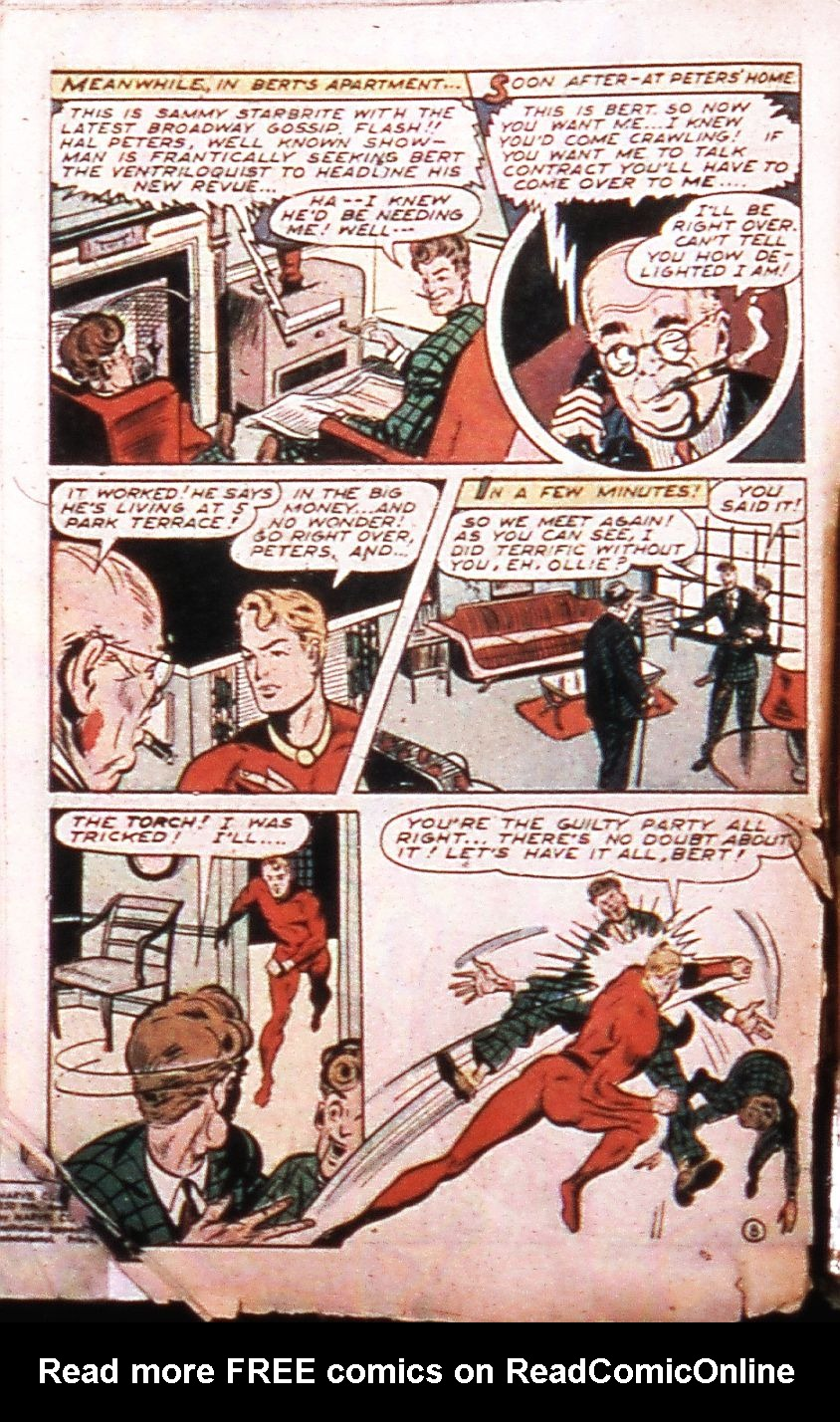 Marvel Mystery Comics (1939) issue 75 - Page 11