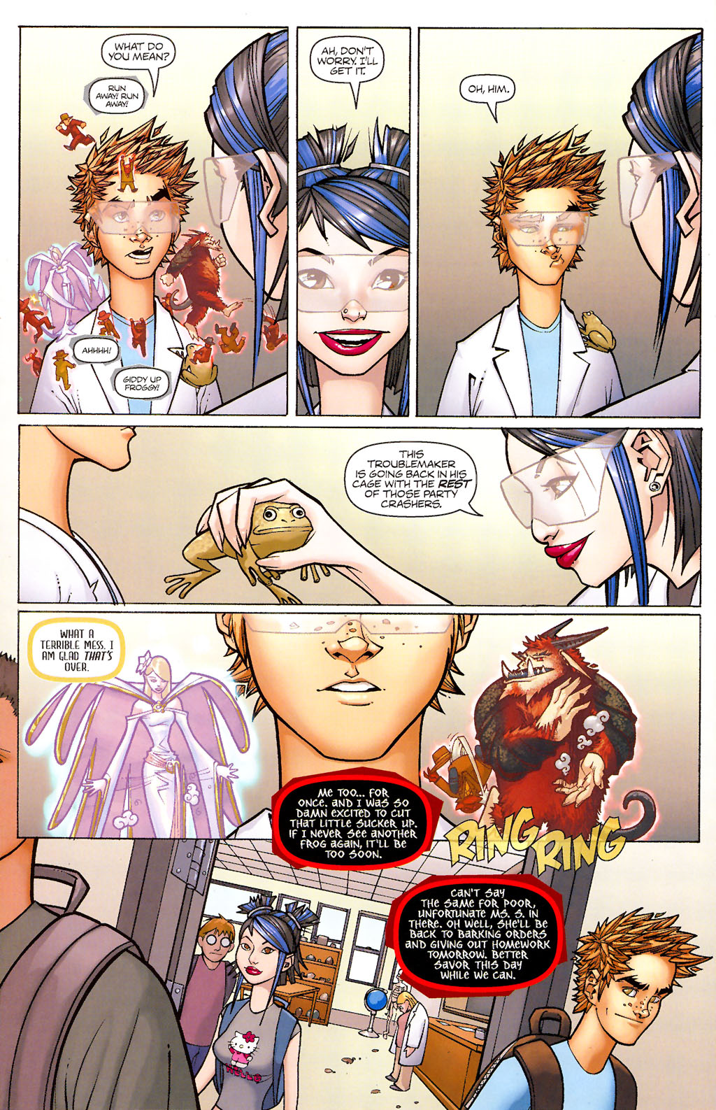 Read online Shrugged (2006) comic -  Issue #1 - 15