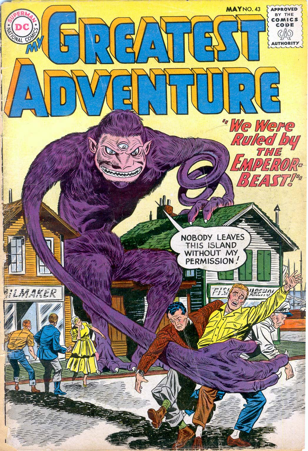 My Greatest Adventure (1955) issue 43 - Page 1