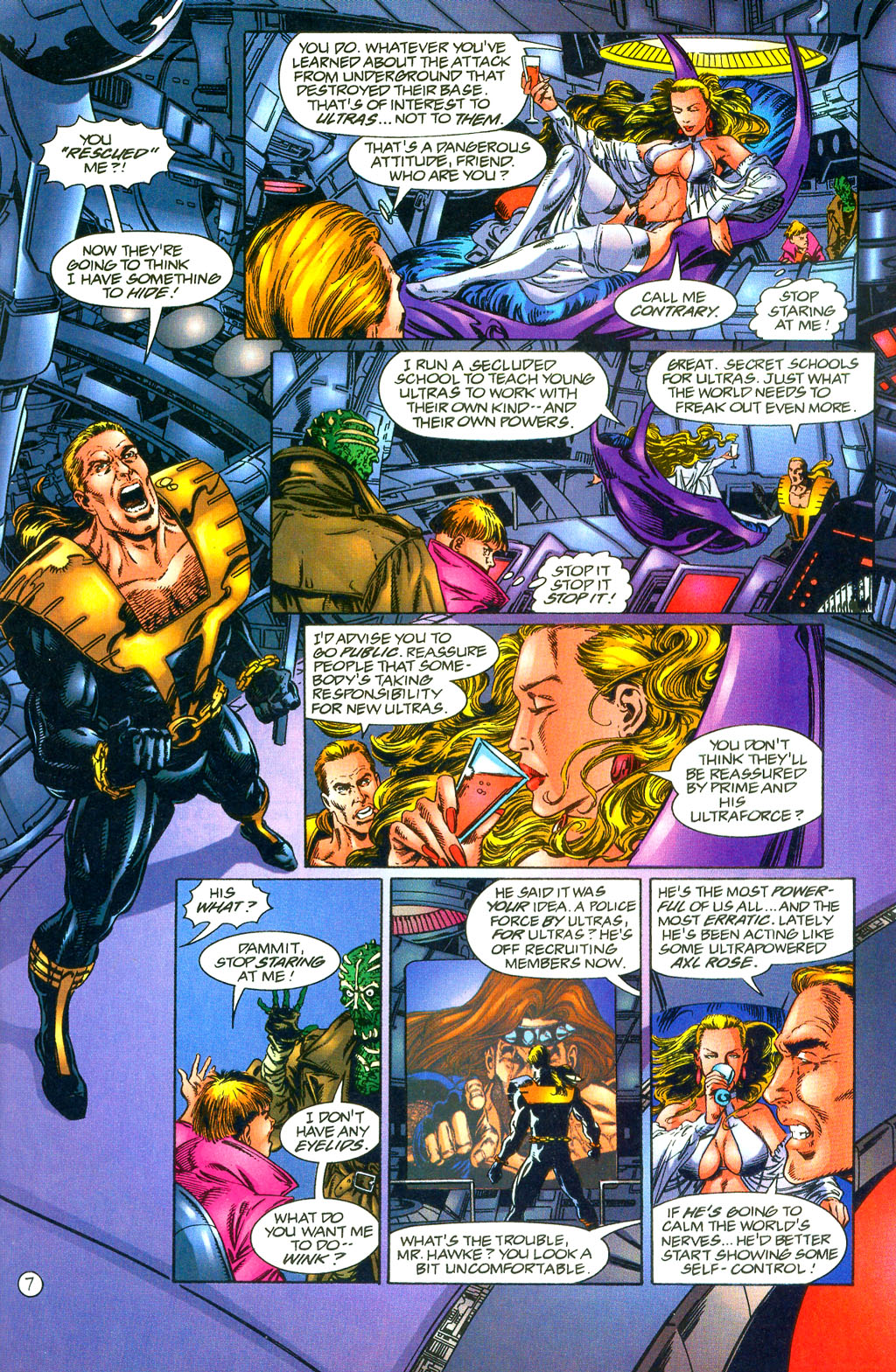 Read online UltraForce (1994) comic -  Issue #0 - 22