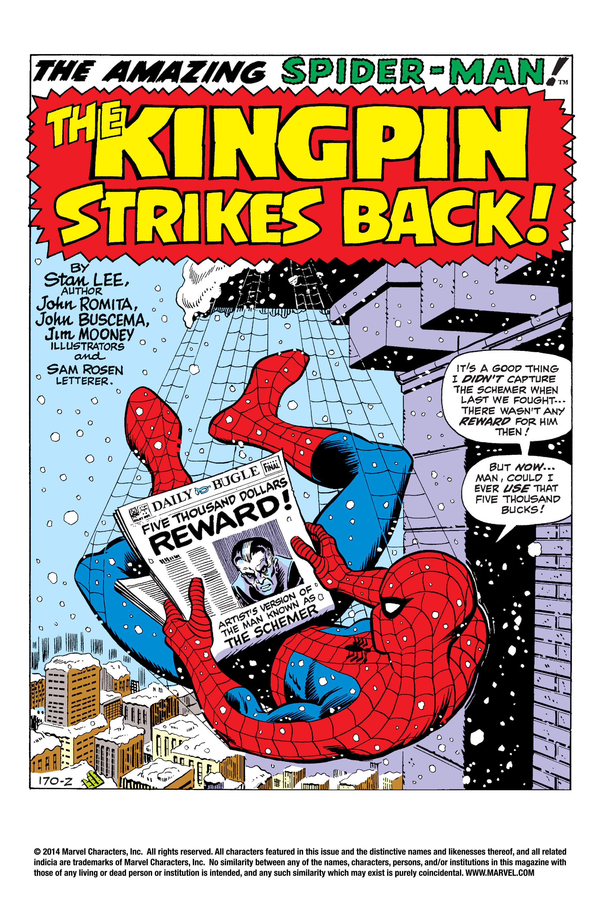 The Amazing Spider-Man (1963) 84 Page 1