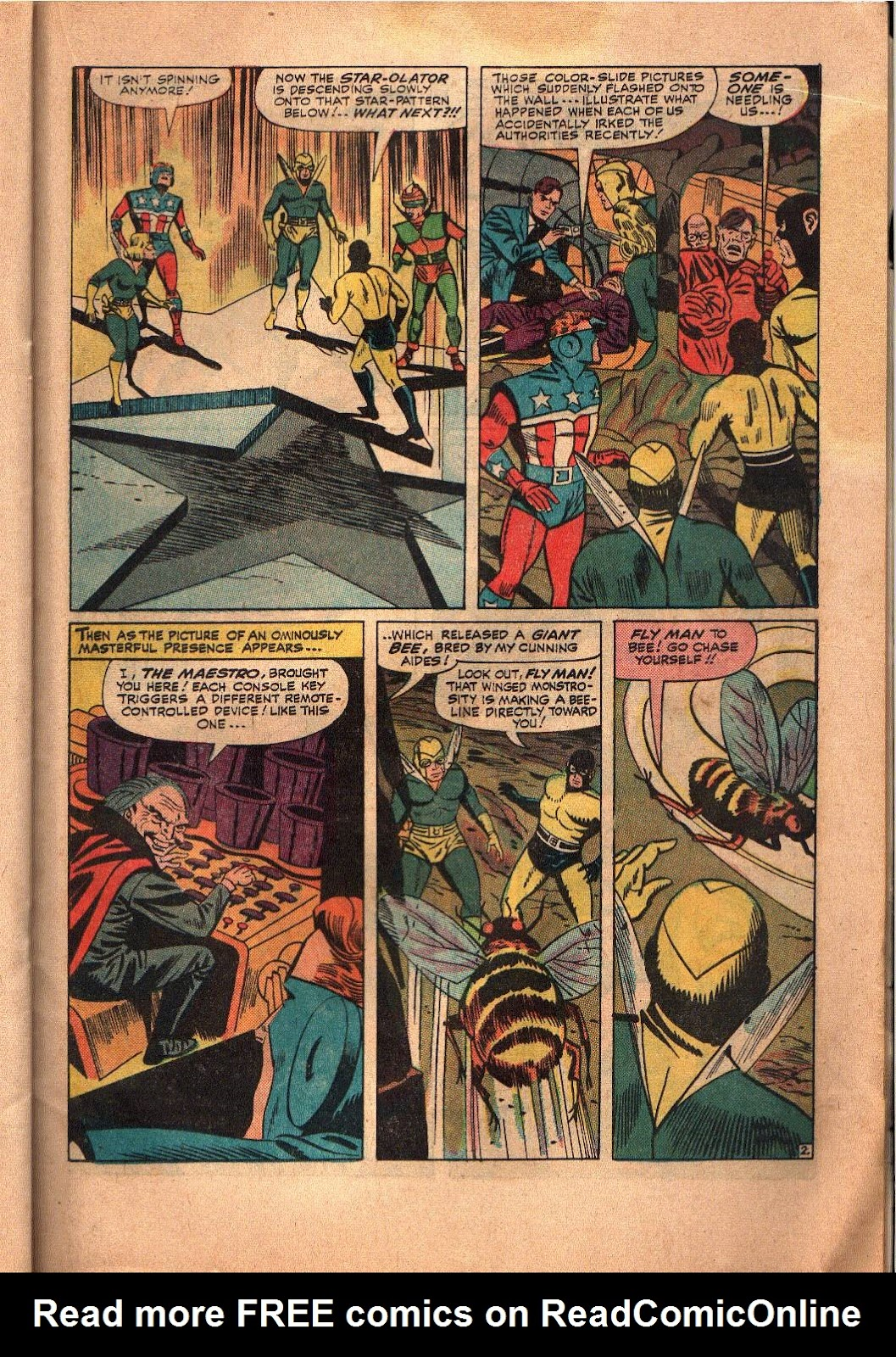 The Mighty Crusaders (1965) Issue #6 #6 - English 17
