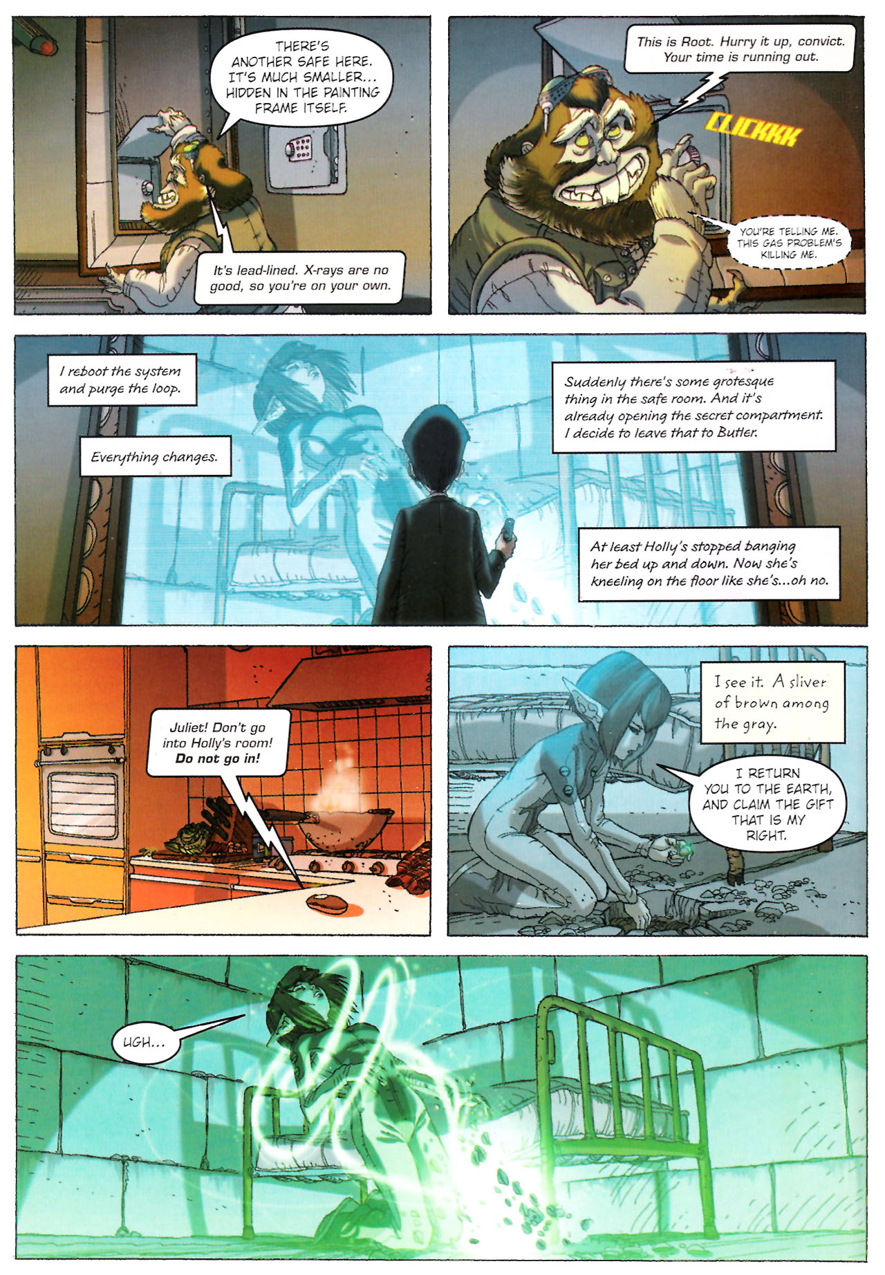 Read Online Artemis Fowl The Graphic Novel Comic Issue