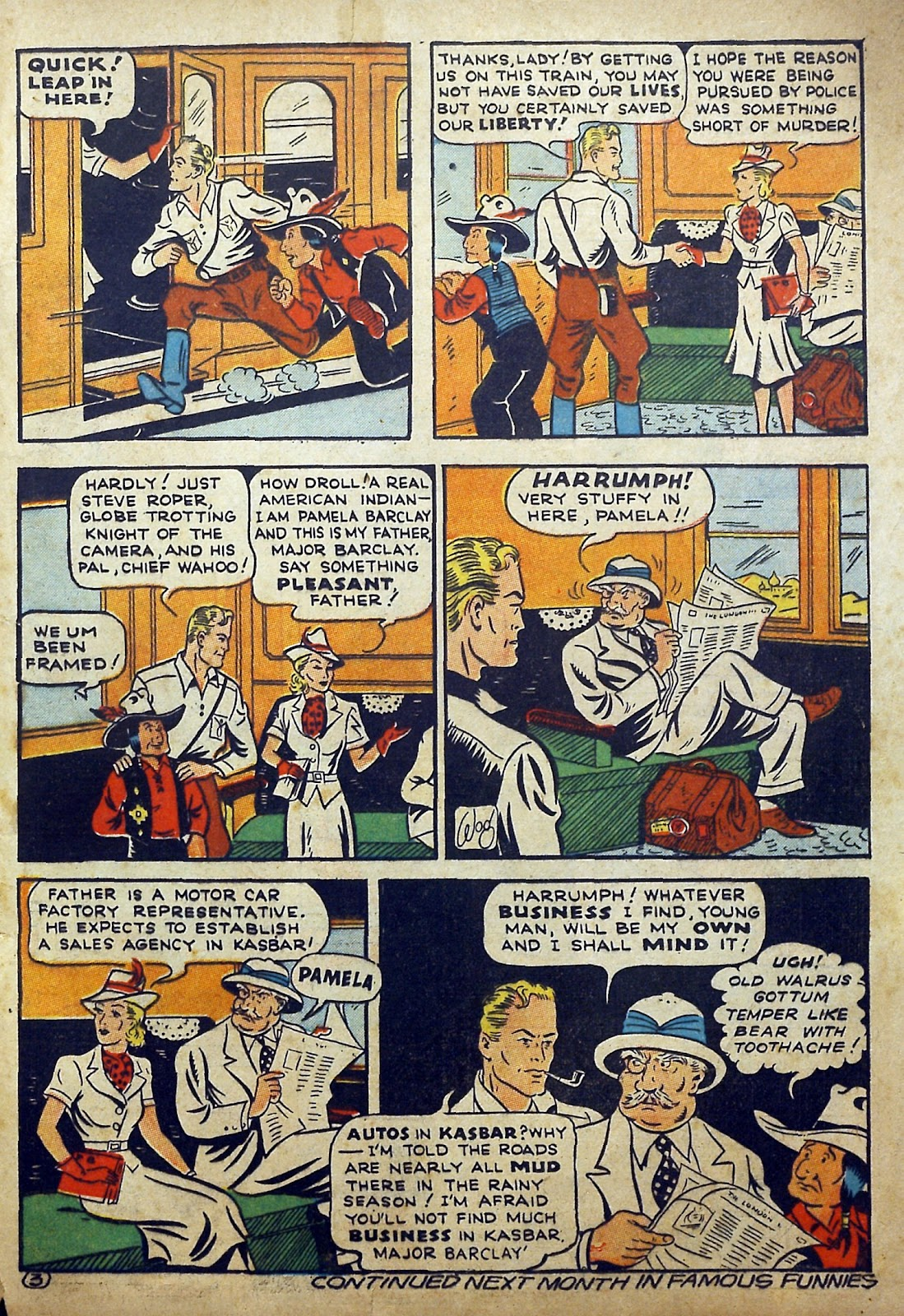 Read online Famous Funnies comic -  Issue #97 - 64