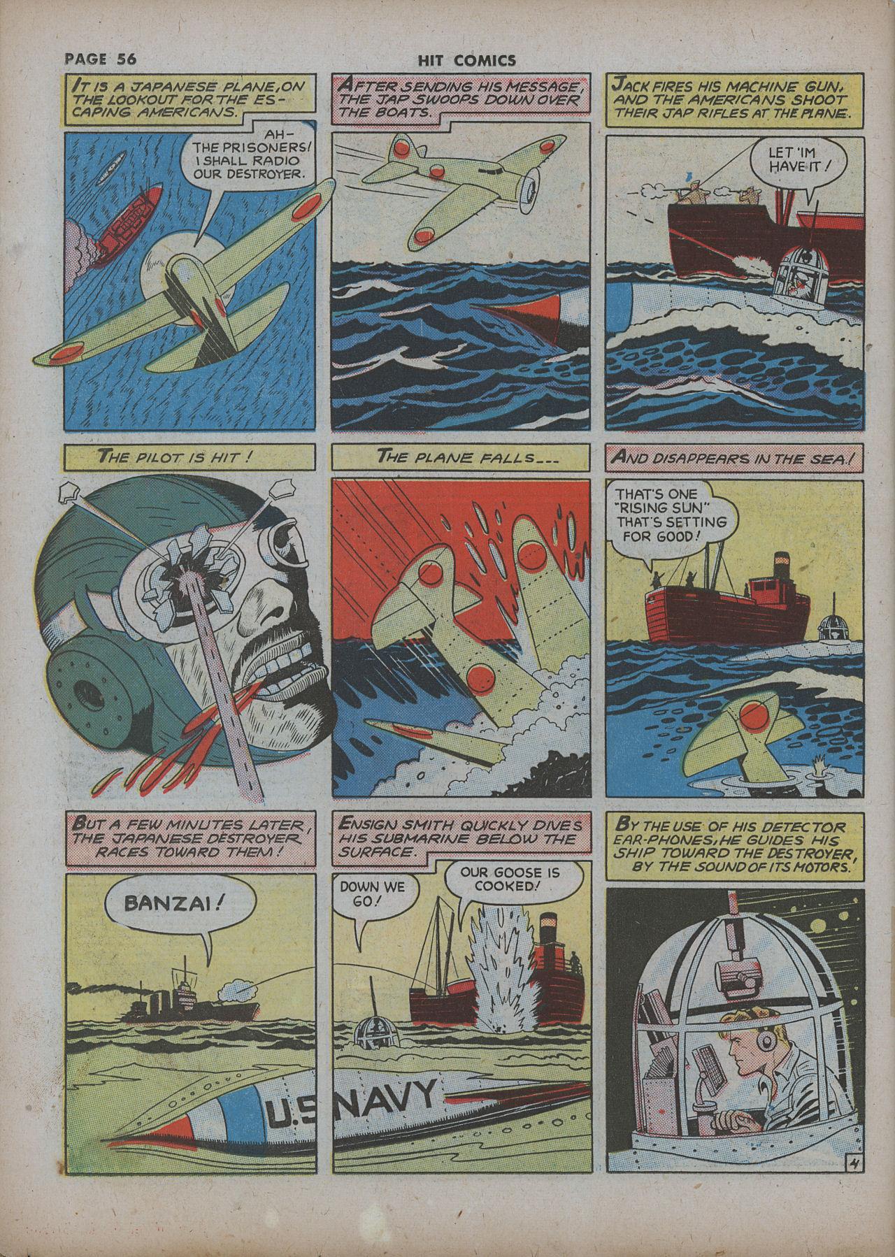 Read online Hit Comics comic -  Issue #22 - 58