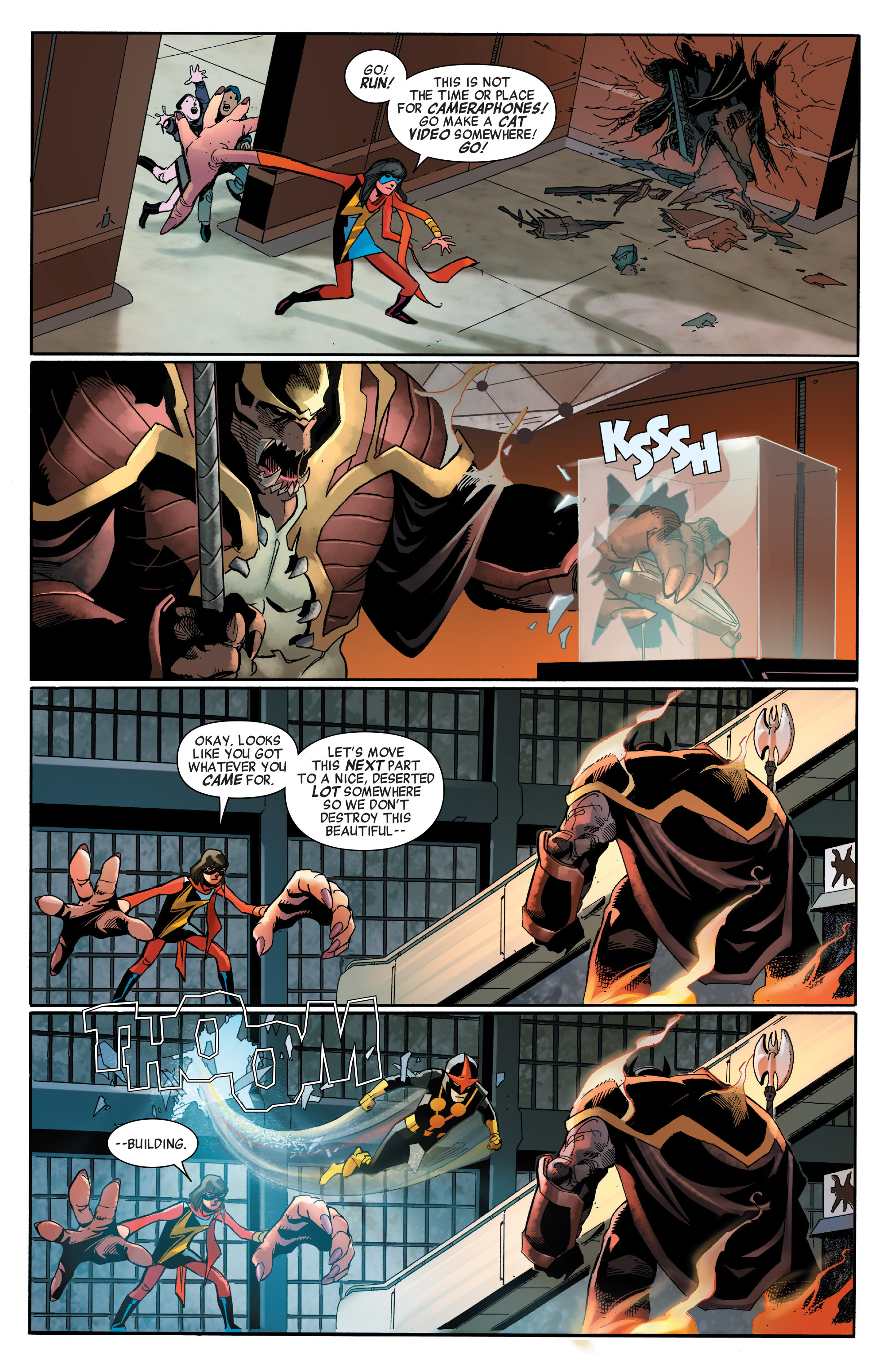 Read online All-New, All-Different Avengers comic -  Issue #2 - 9