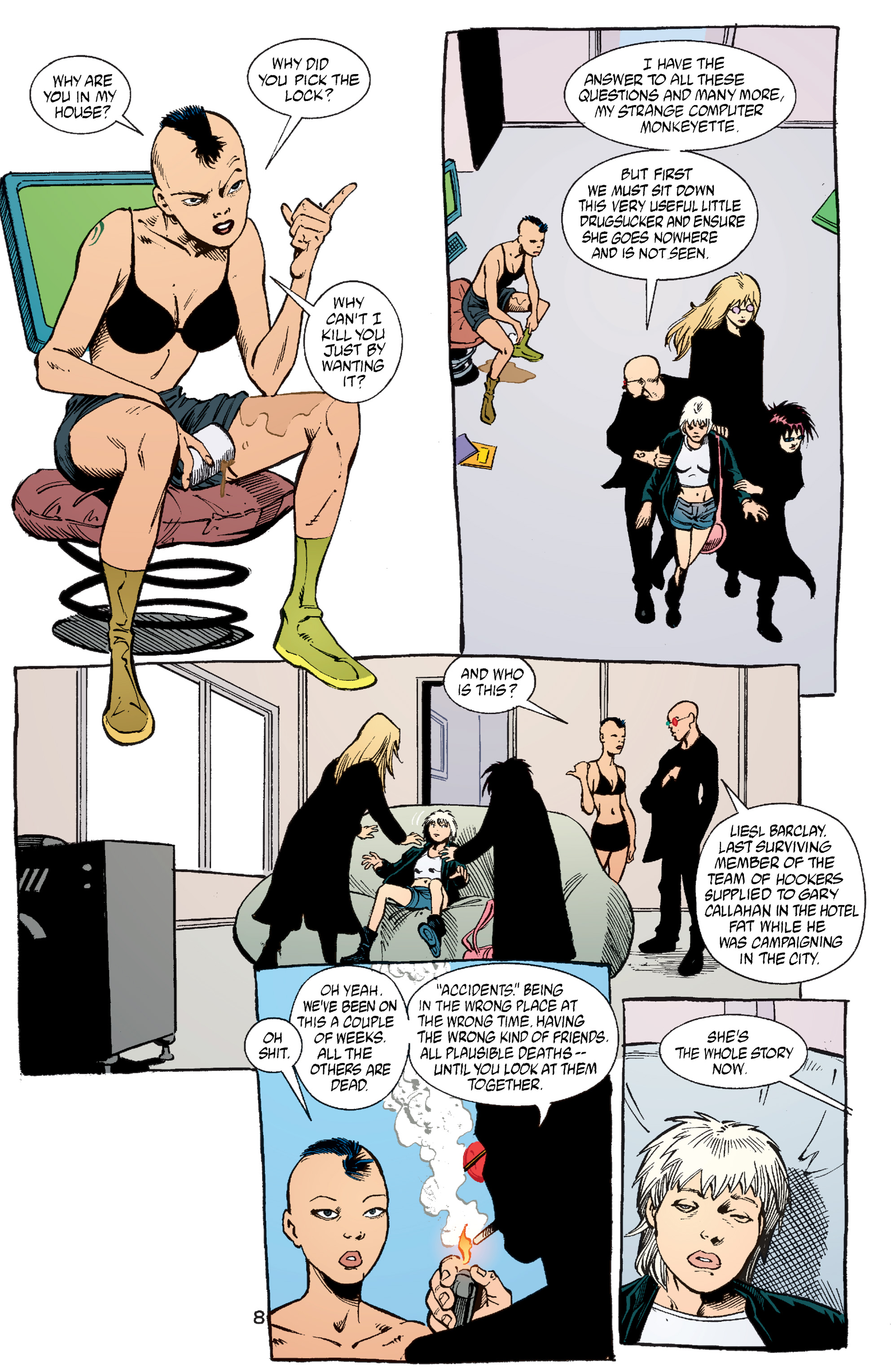 Read online Transmetropolitan comic -  Issue #53 - 9