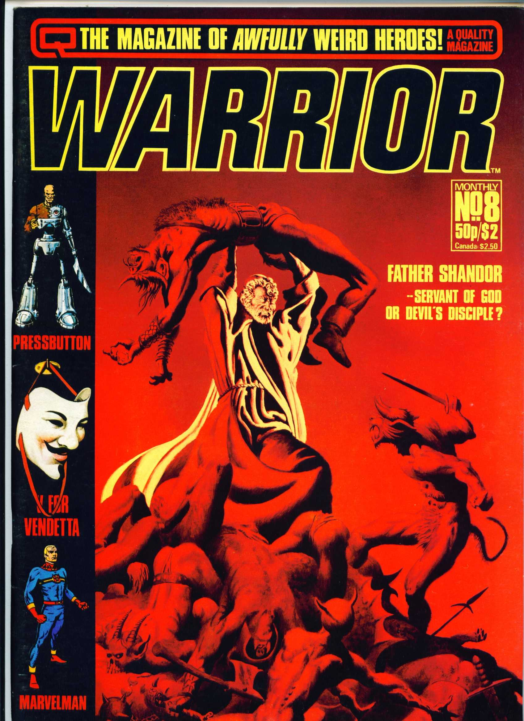 Warrior 8 Page 1