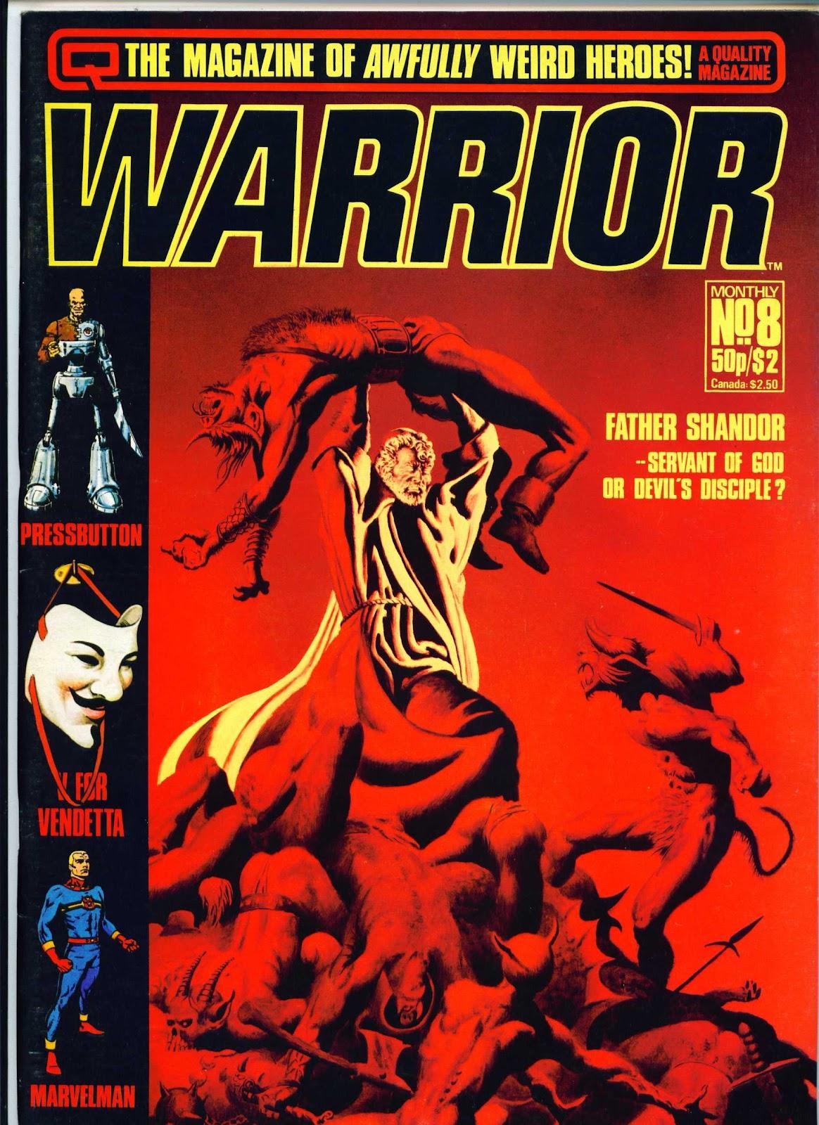 Warrior Issue #8 #9 - English 1