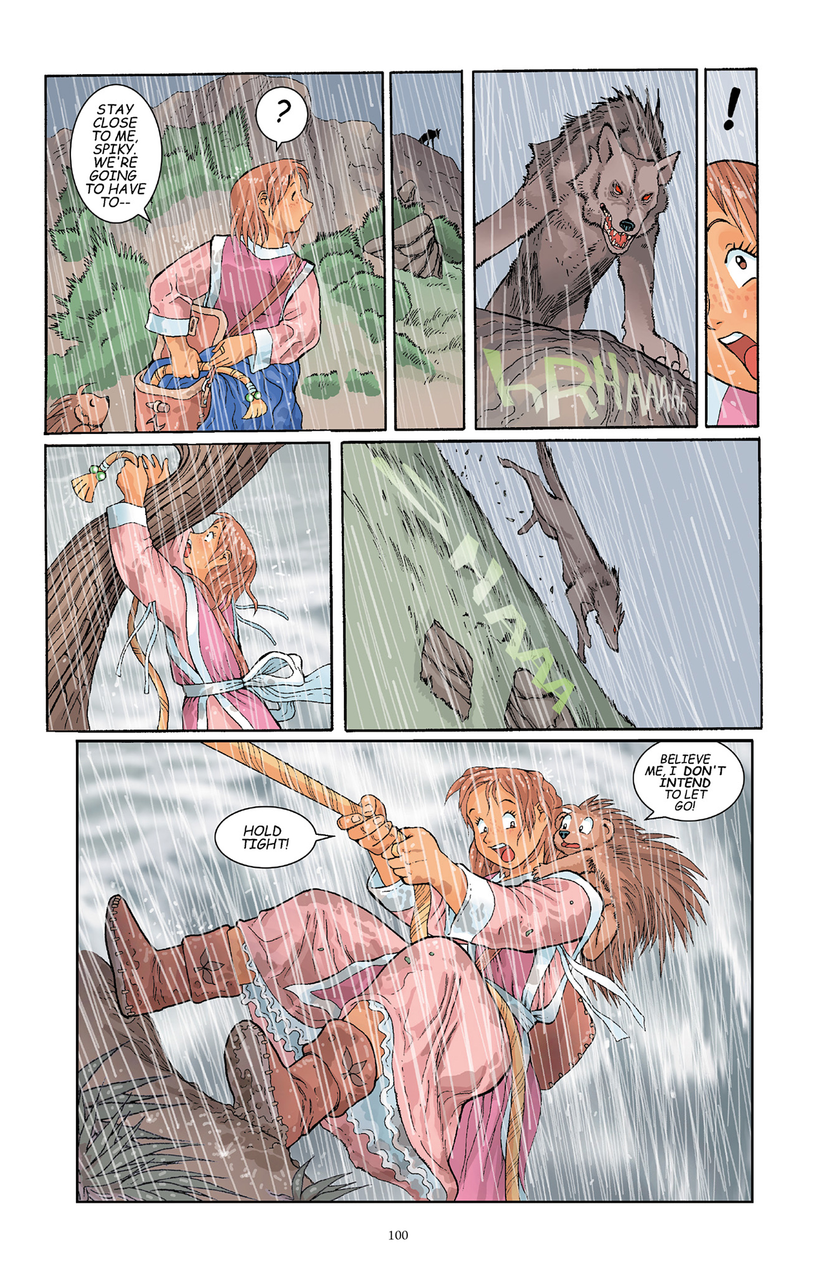Read online Courageous Princess comic -  Issue # TPB 1 - 100